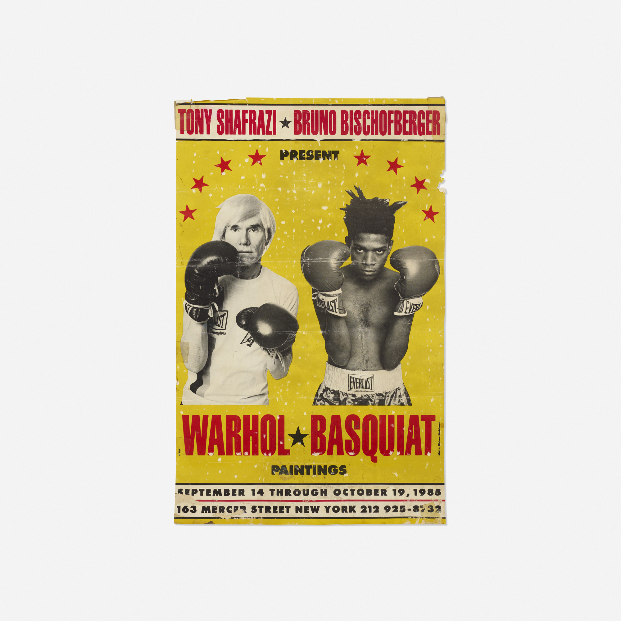 109: ANDY WARHOL AND JEAN-MICHEL BASQUIAT, Warhol/Basquiat Paintings ...