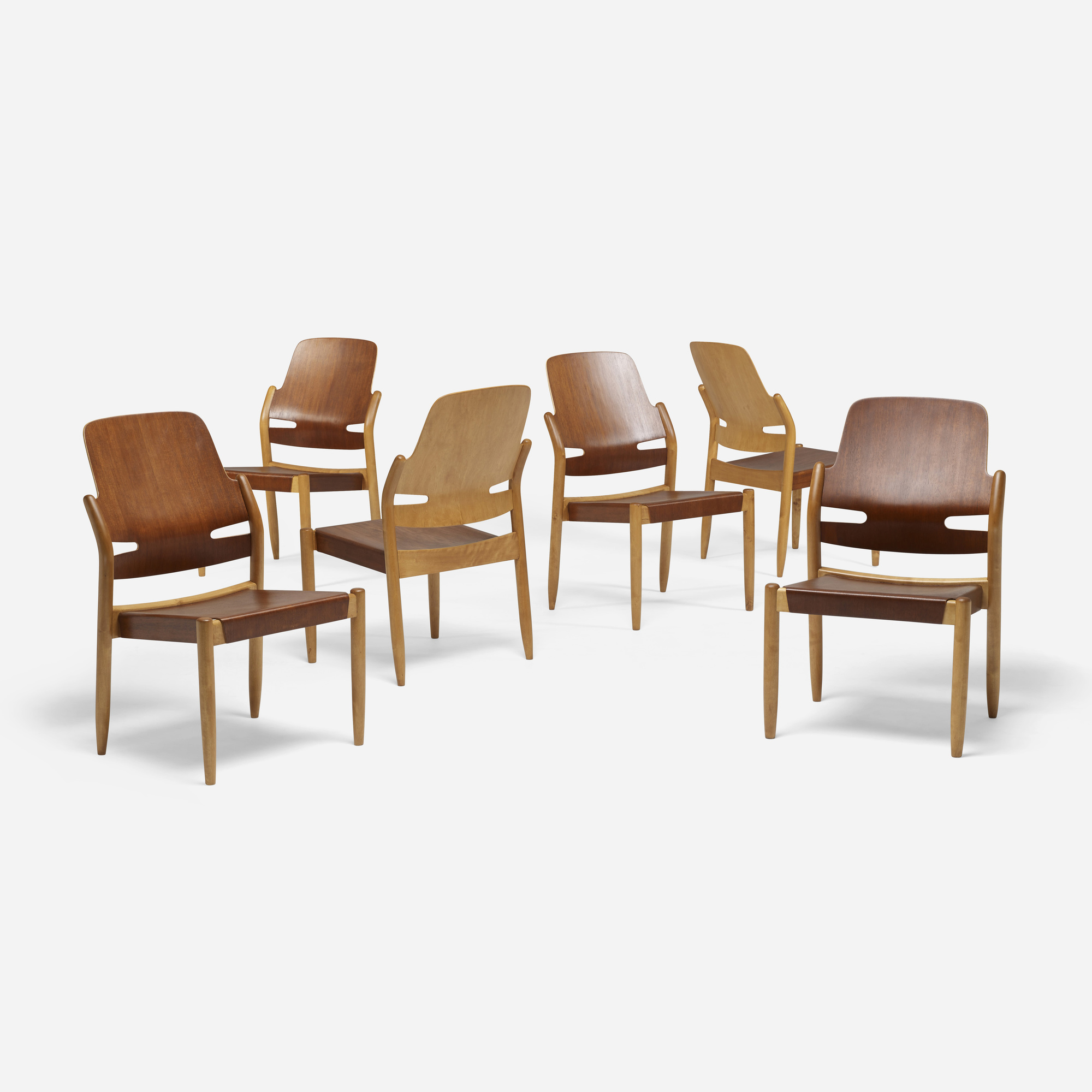 109: Carl-Axel Acking / dining chairs, set of six (2 of 5)