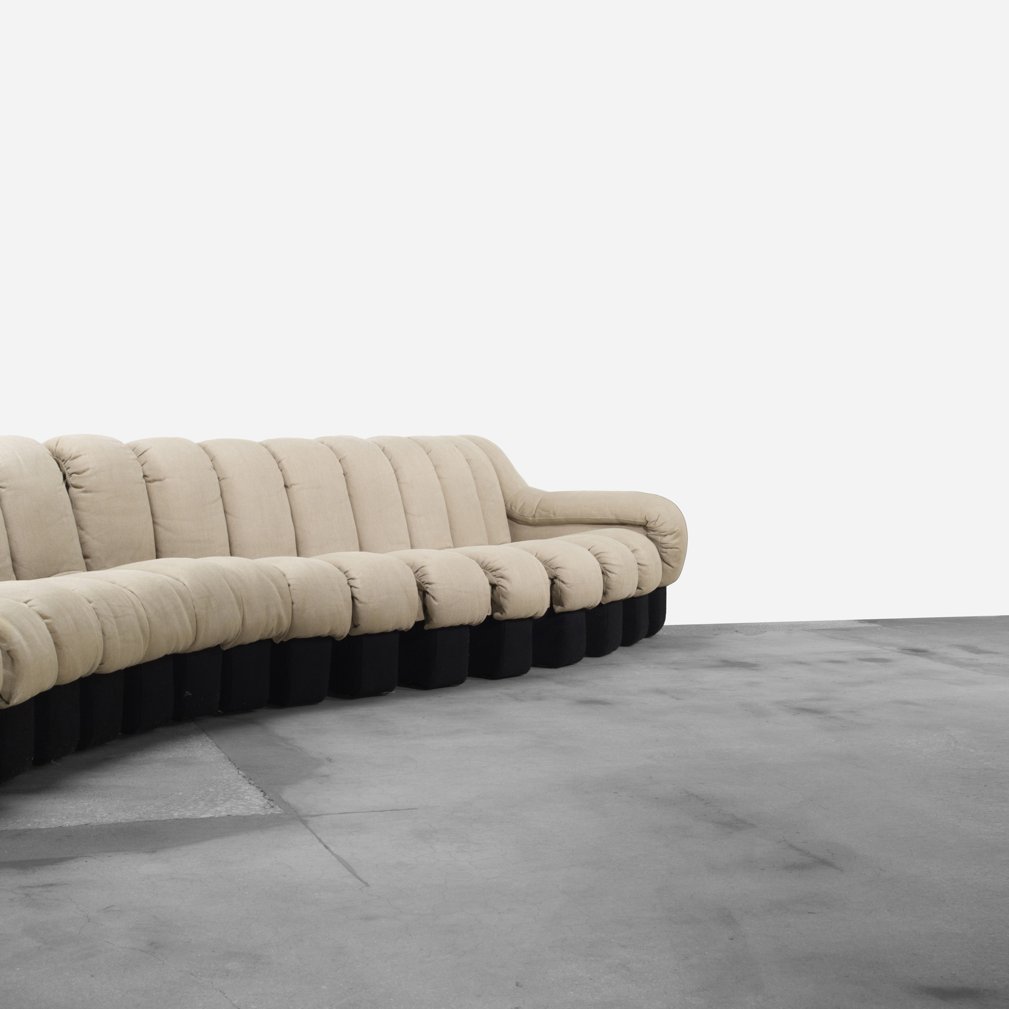 109: Ueli Berger, Eleanora Peduzzi Riva And Heinz Ulrich / DS 600 Organic  Sofa (3 Of 3)