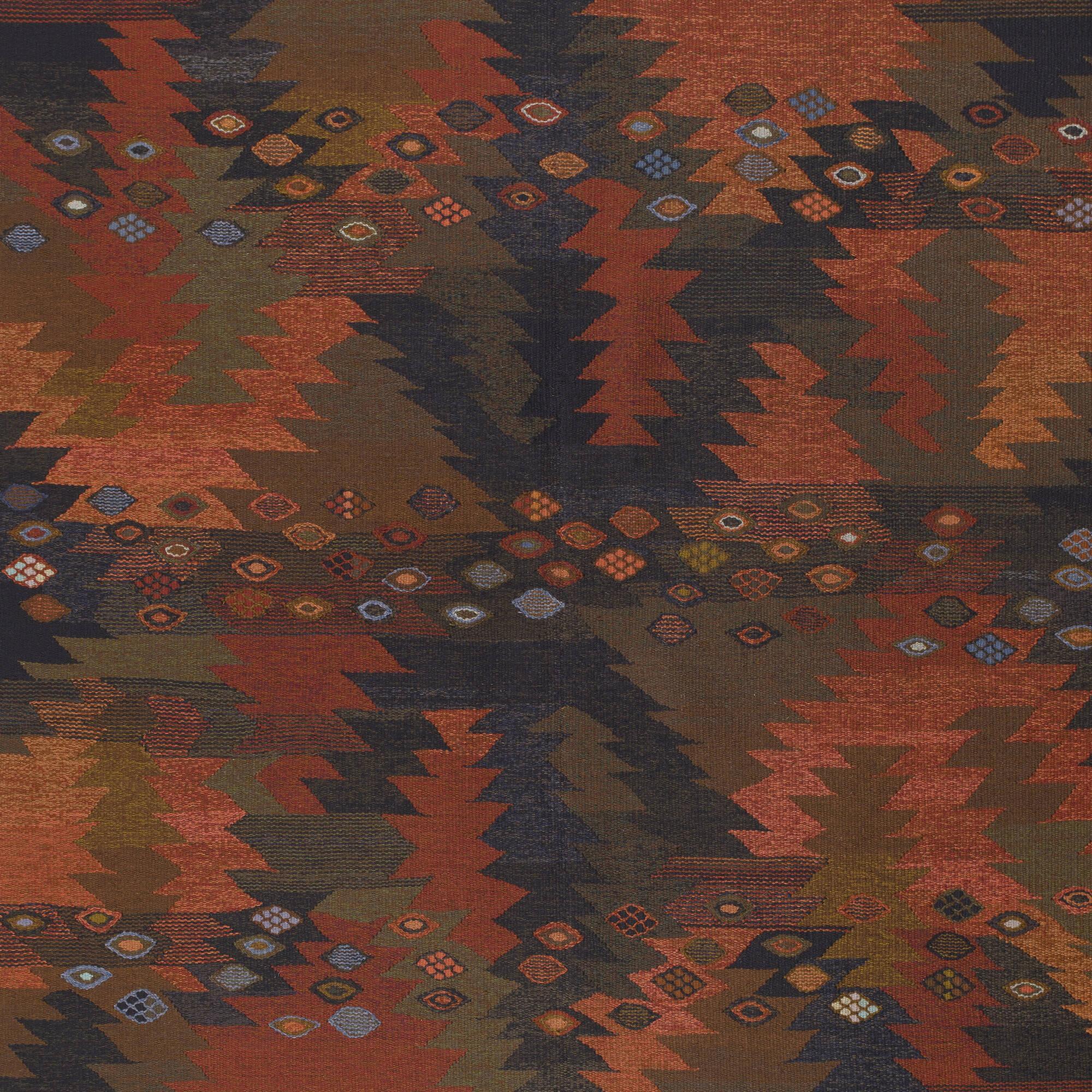 109: Barbro Nilsson / Tånga tapestry weave carpet (3 of 3)