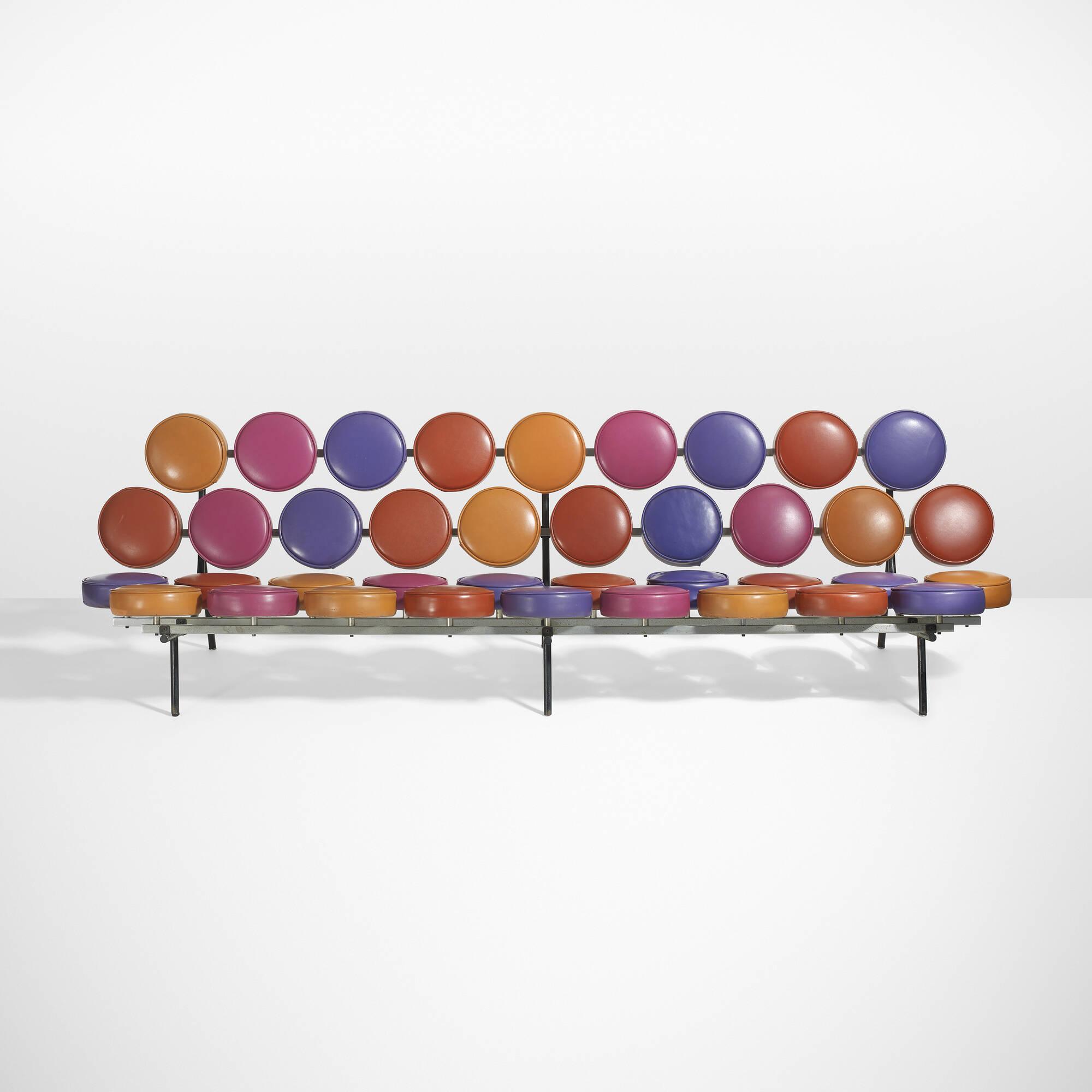 10: George Nelson U0026 Associates / Rare And Important Marshmallow Sofa (1 Of  3) ...