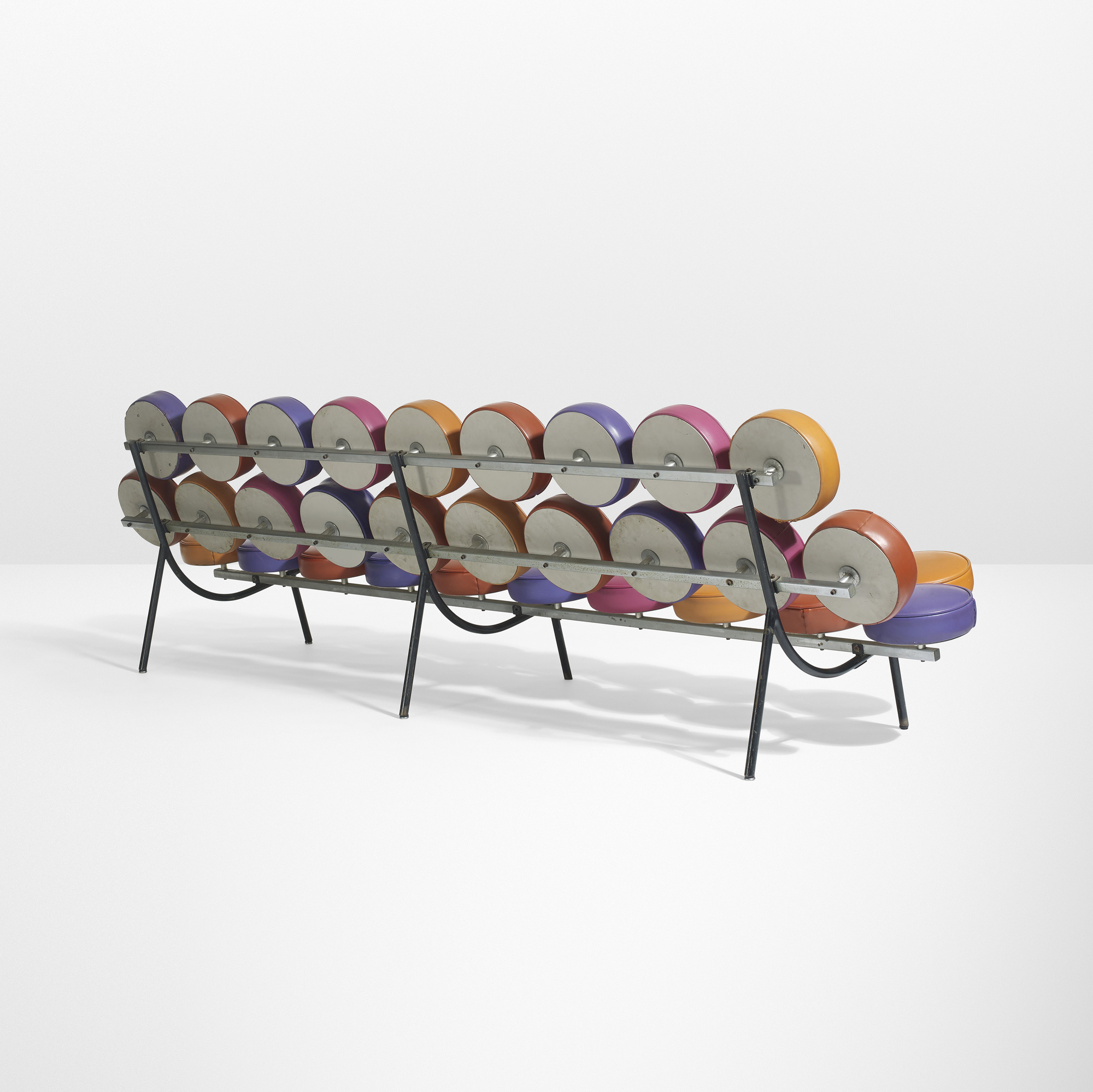 ... 10: George Nelson & Associates / Rare and important Marshmallow Sofa (2 of 3