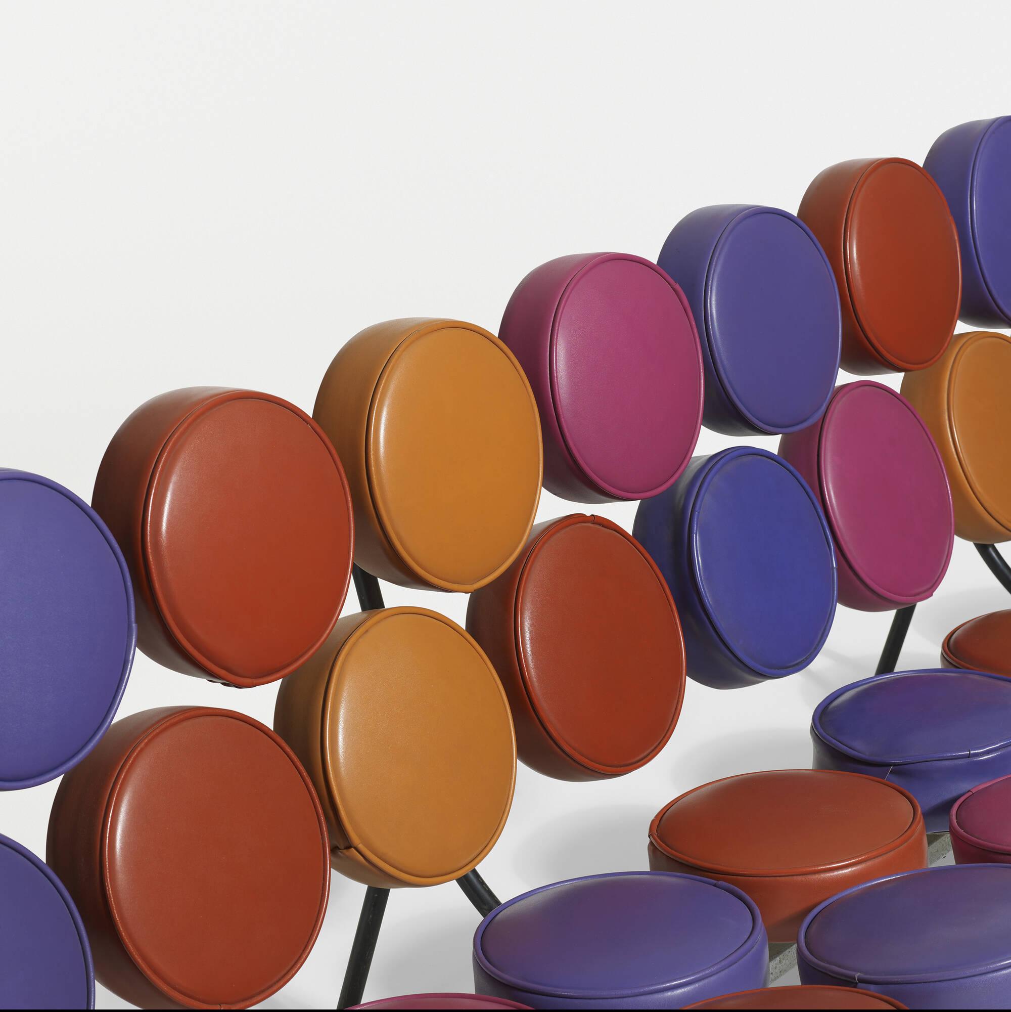 ... 10: George Nelson U0026 Associates / Rare And Important Marshmallow Sofa (3  Of 3
