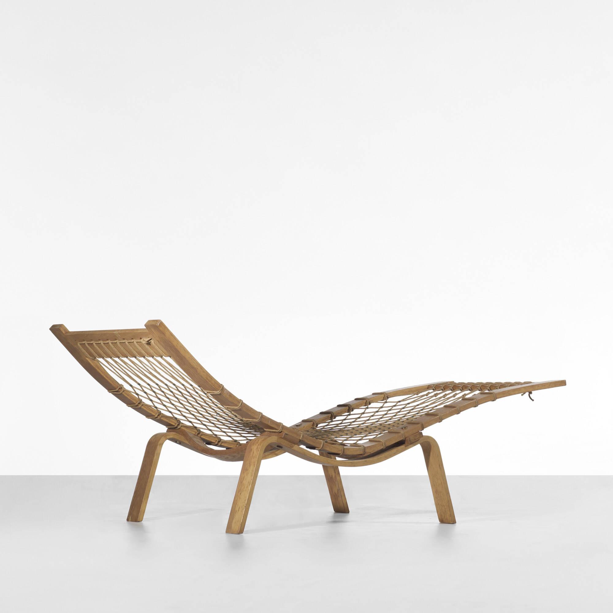 110 Hans J Wegner Hammock Chaise Lounge 1 Of 2