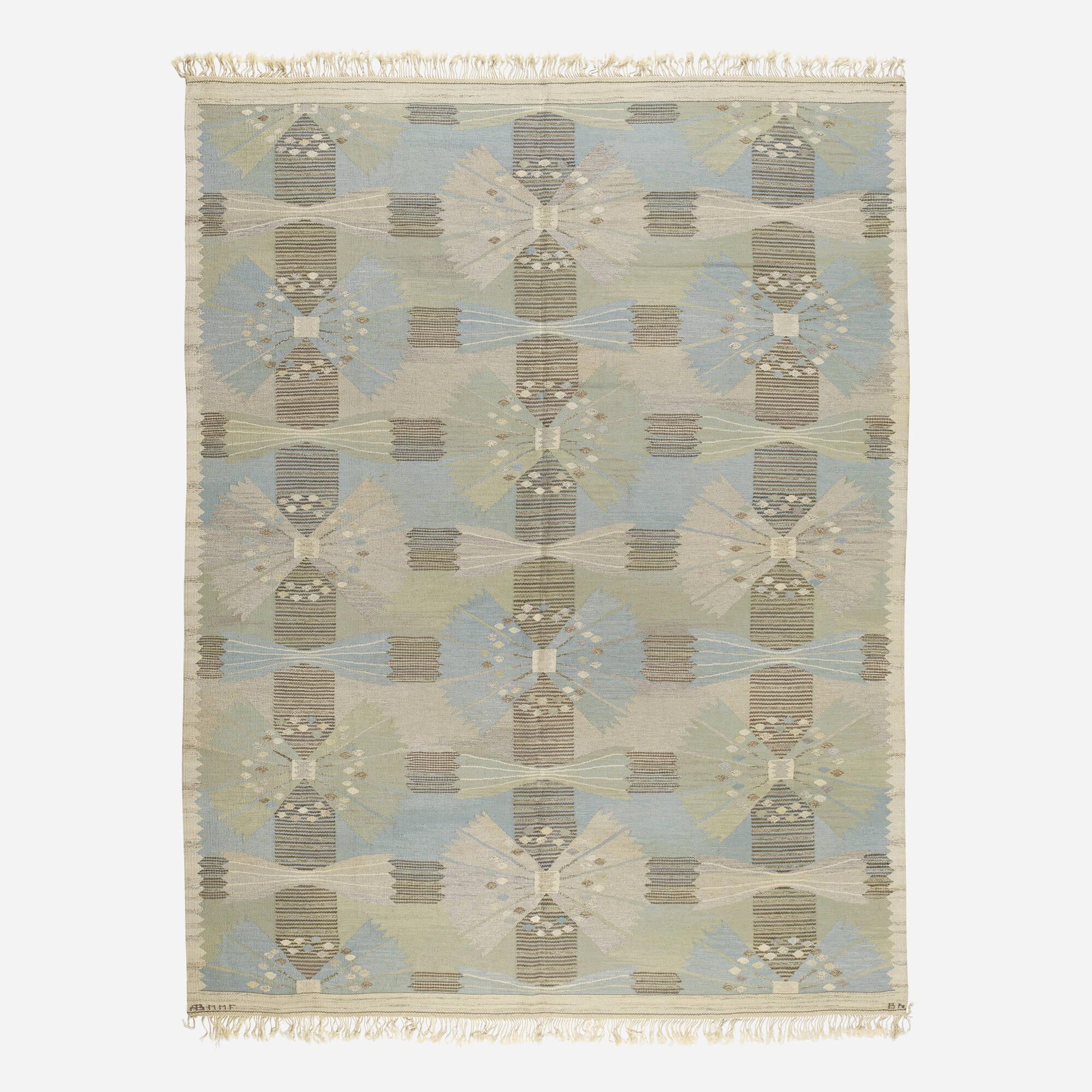 110: Barbro Nilsson / The Park, Falkman tapestry weave carpet (1 of 2)