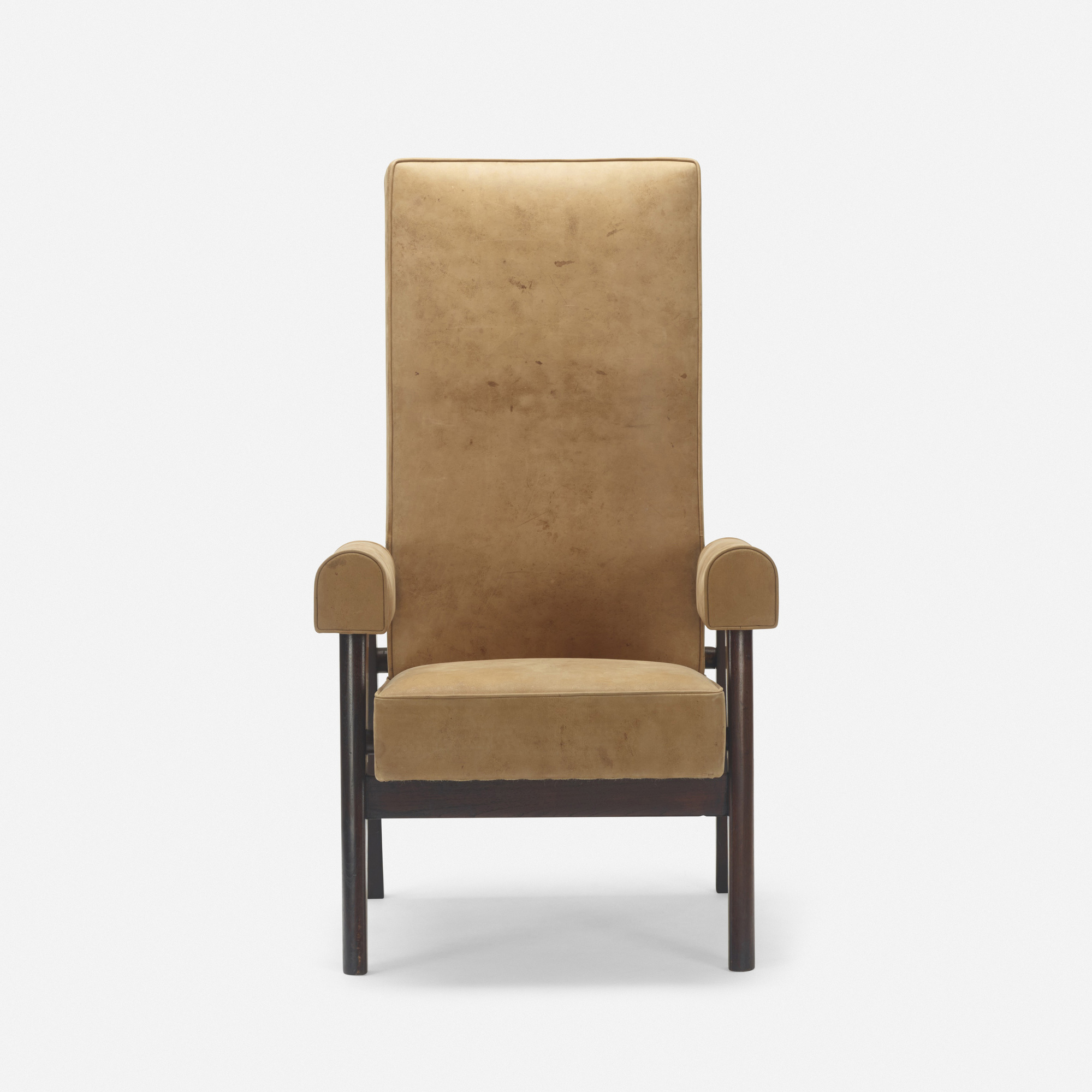 110: Le Corbusier and Pierre Jeanneret / Judge's armchair from the High Court, Chandigarh (2 of 3)