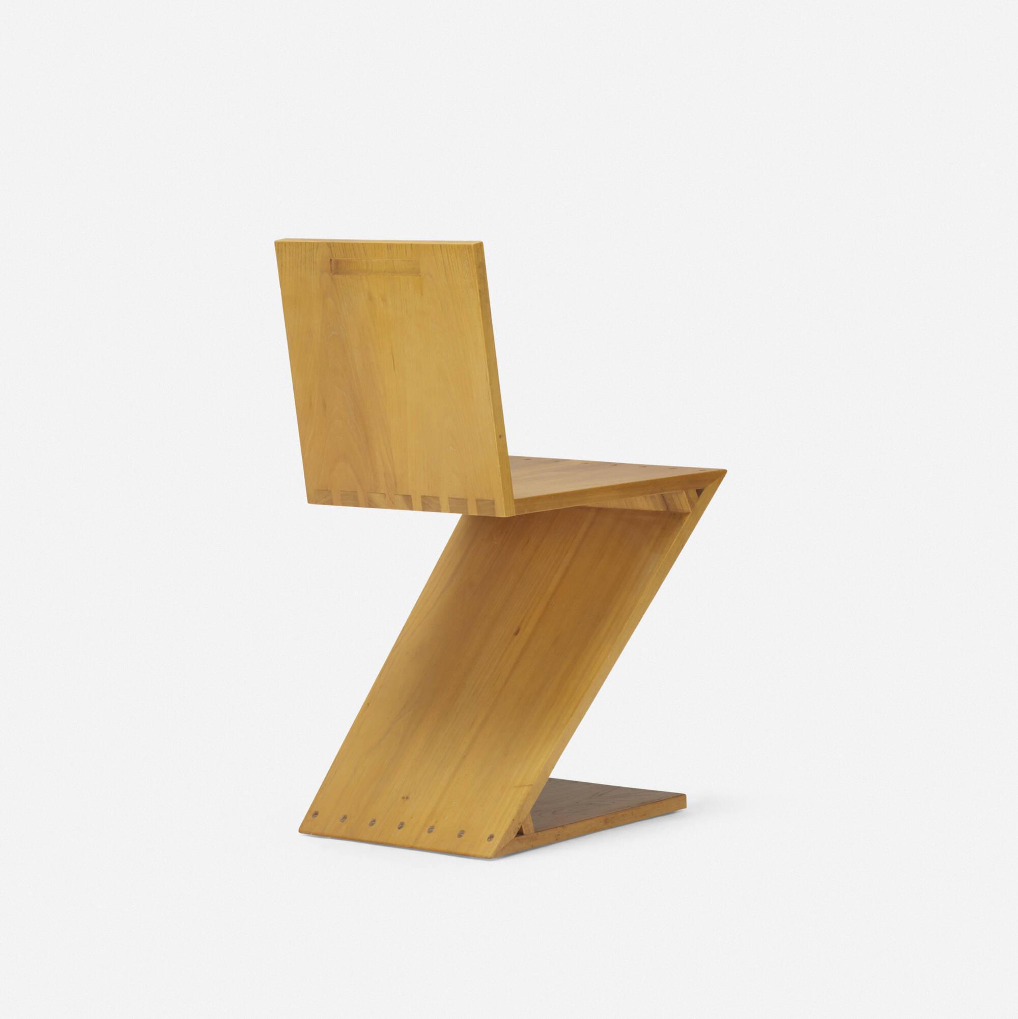 ... 110 Gerrit Rietveld / Zig-Zag chair (2 of 4) & 110: GERRIT RIETVELD Zig-Zag chair u003c Design  26 October 2017 ...
