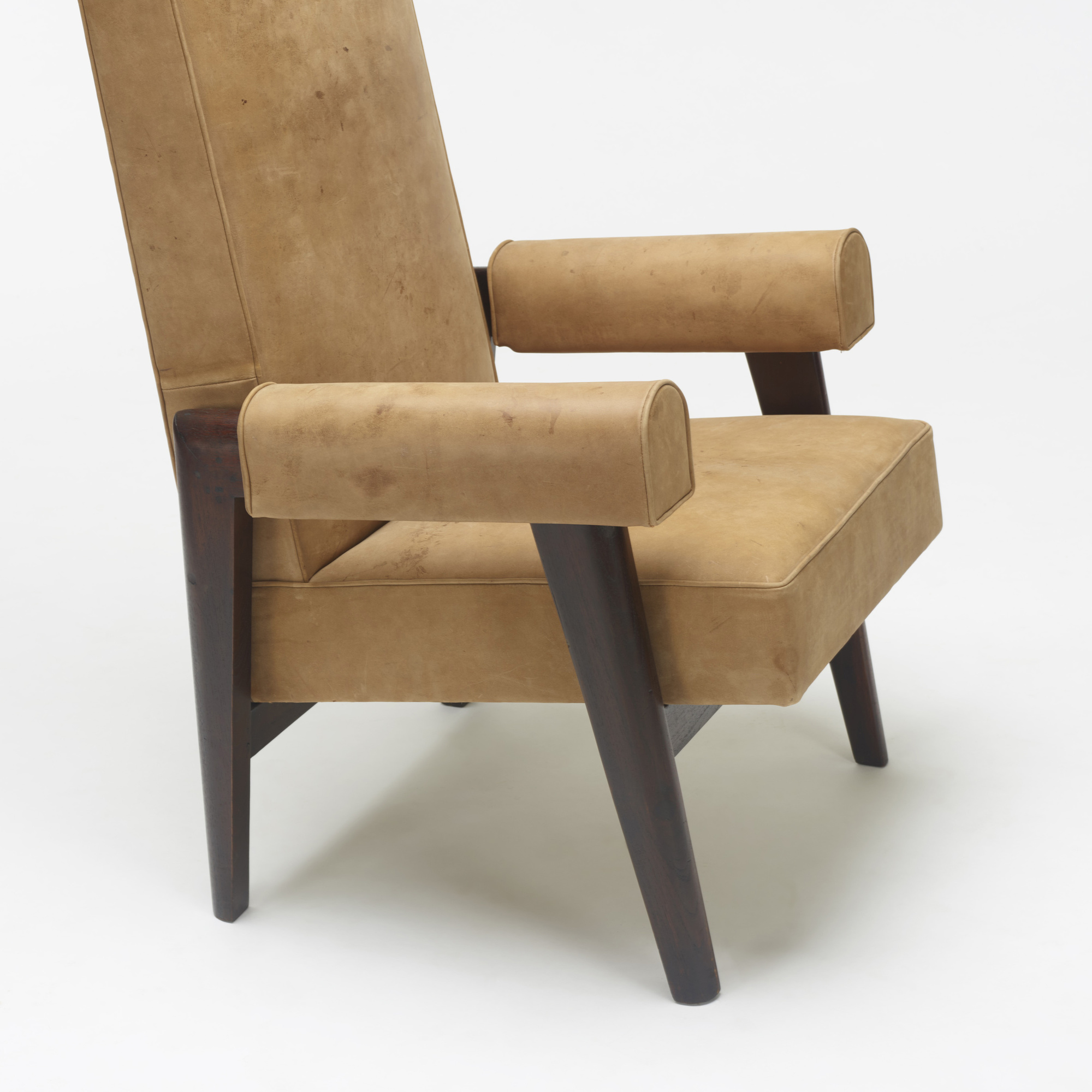 110: Le Corbusier and Pierre Jeanneret / Judge's armchair from the High Court, Chandigarh (3 of 3)