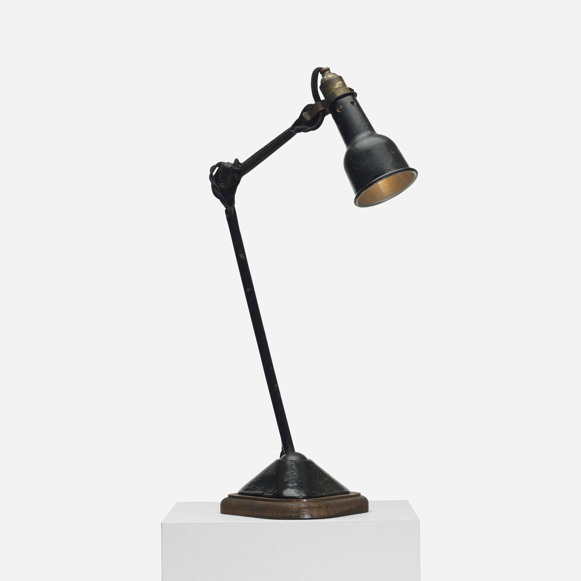 111: BERNARD-ALBIN GRAS, desk lamp, model 207 < Design, 12 June 2014 ...