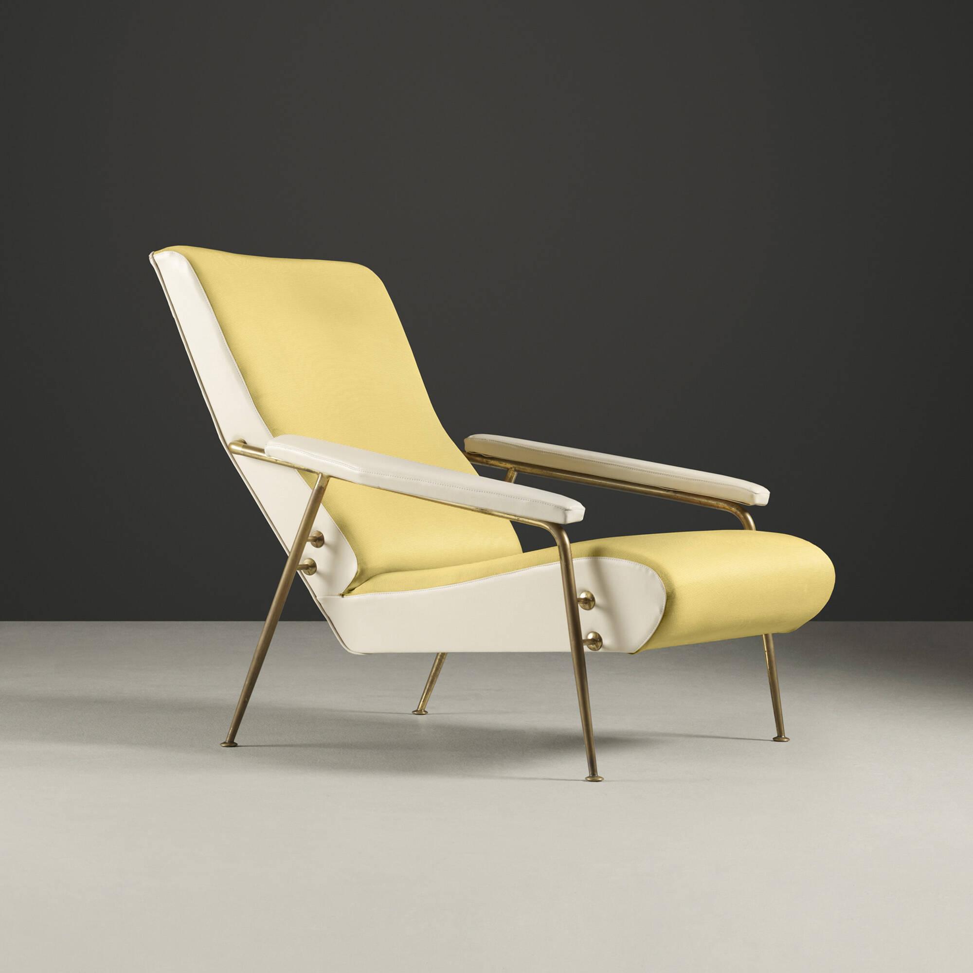 111 Gio Ponti Distex lounge chair model 807 Italian