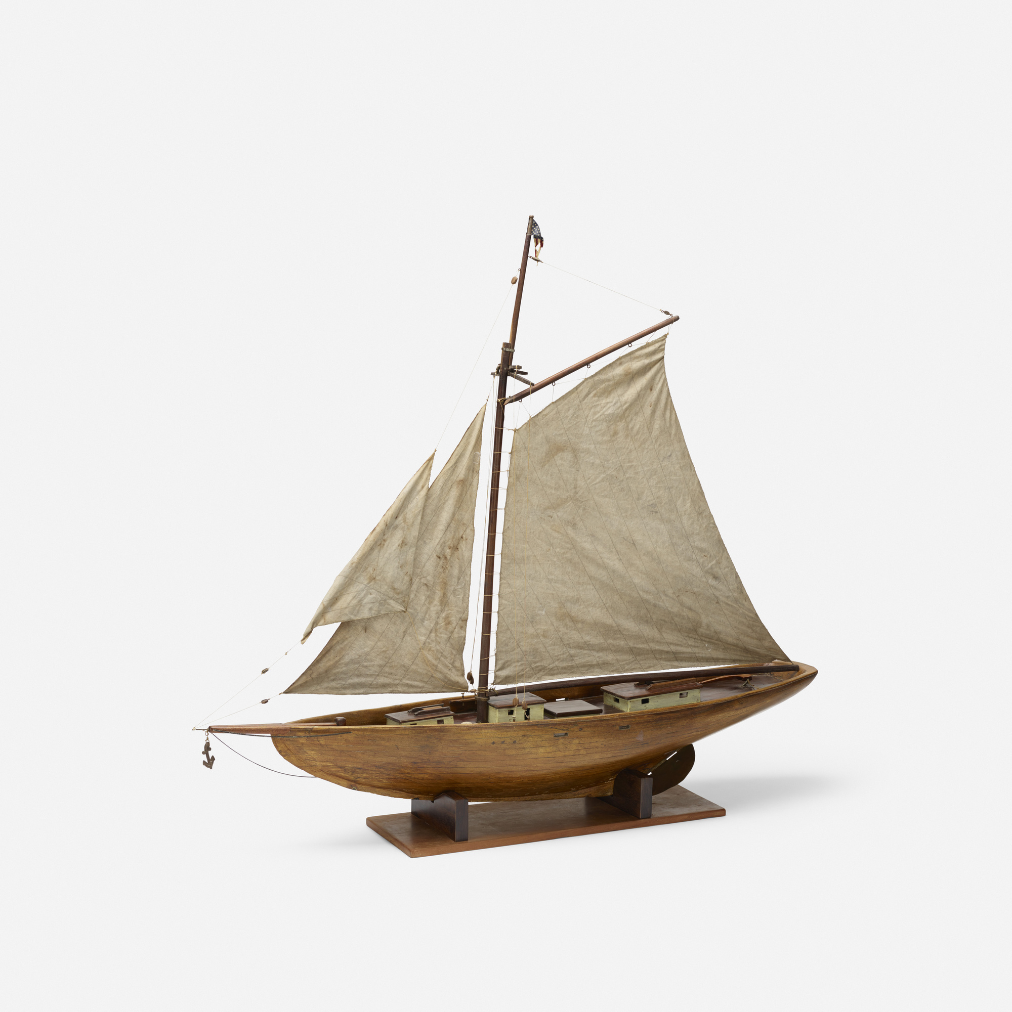 111: Early 20th Century / sailboat model (1 of 3)