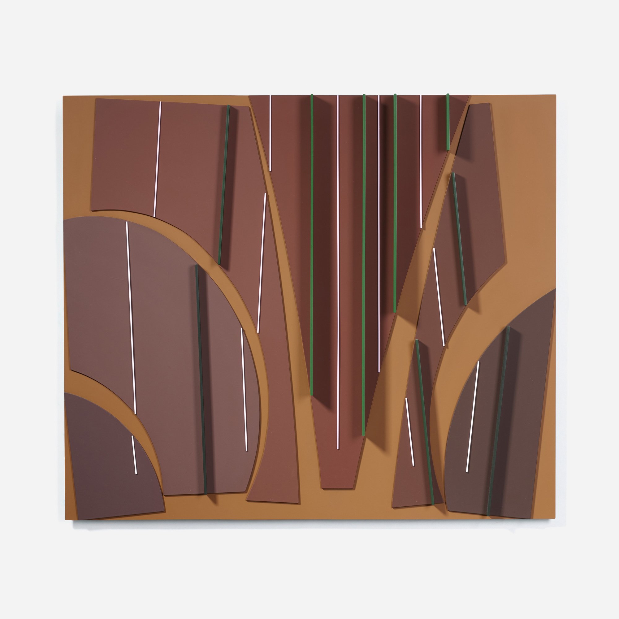 111: David Barr / Structurist Relief No. 310 (1 of 4)