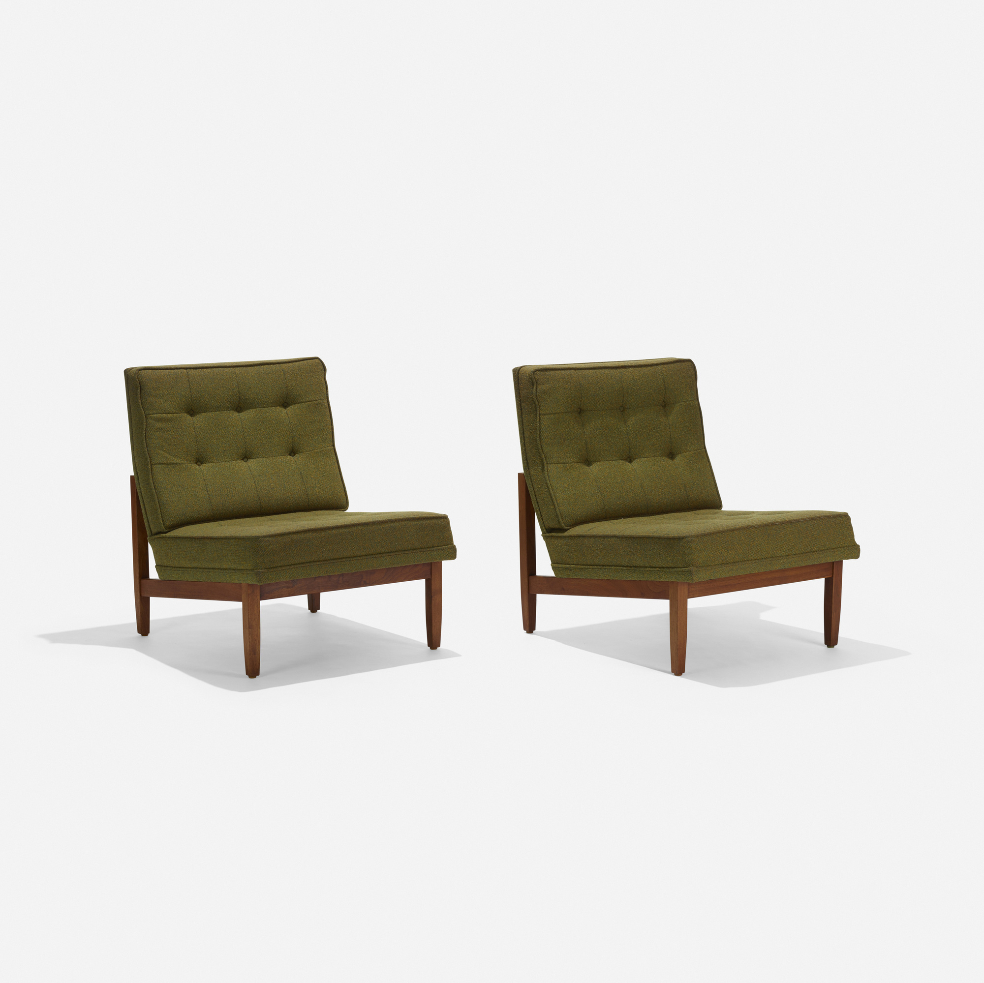 111: Florence Knoll / lounge chairs, pair (2 of 3)