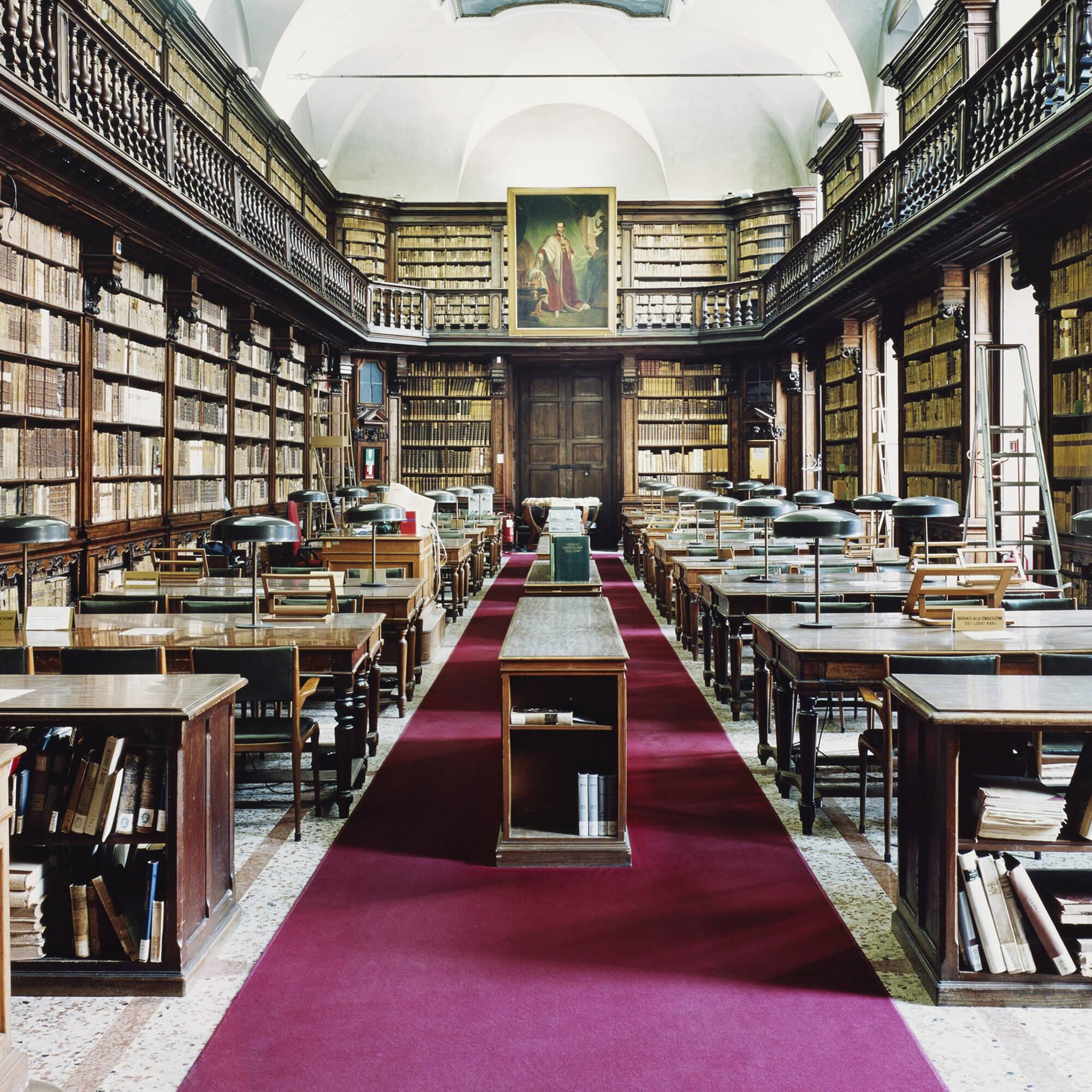 111 candida h fer biblioteca di brera milano iv for Art design milano