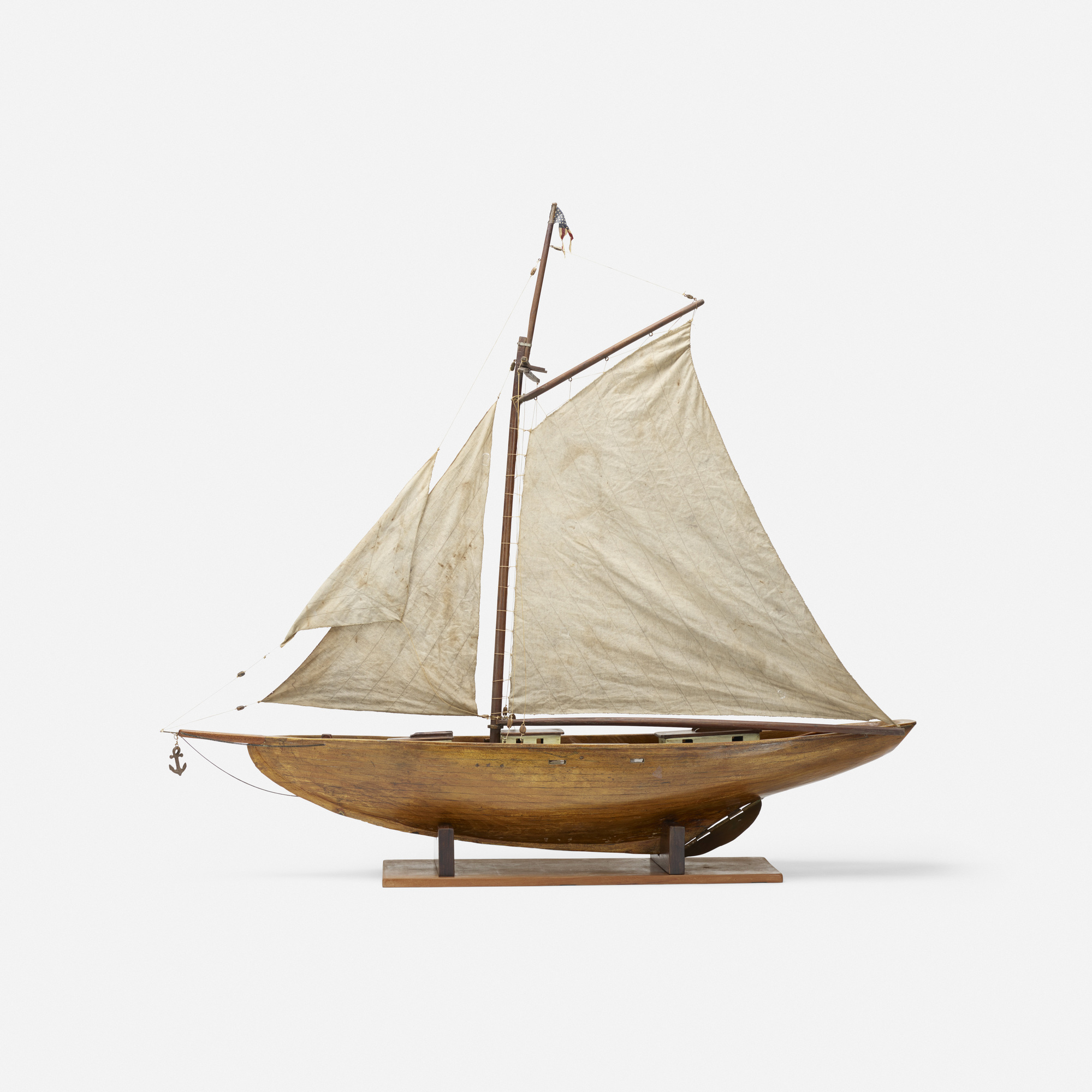 111: Early 20th Century / sailboat model (2 of 3)