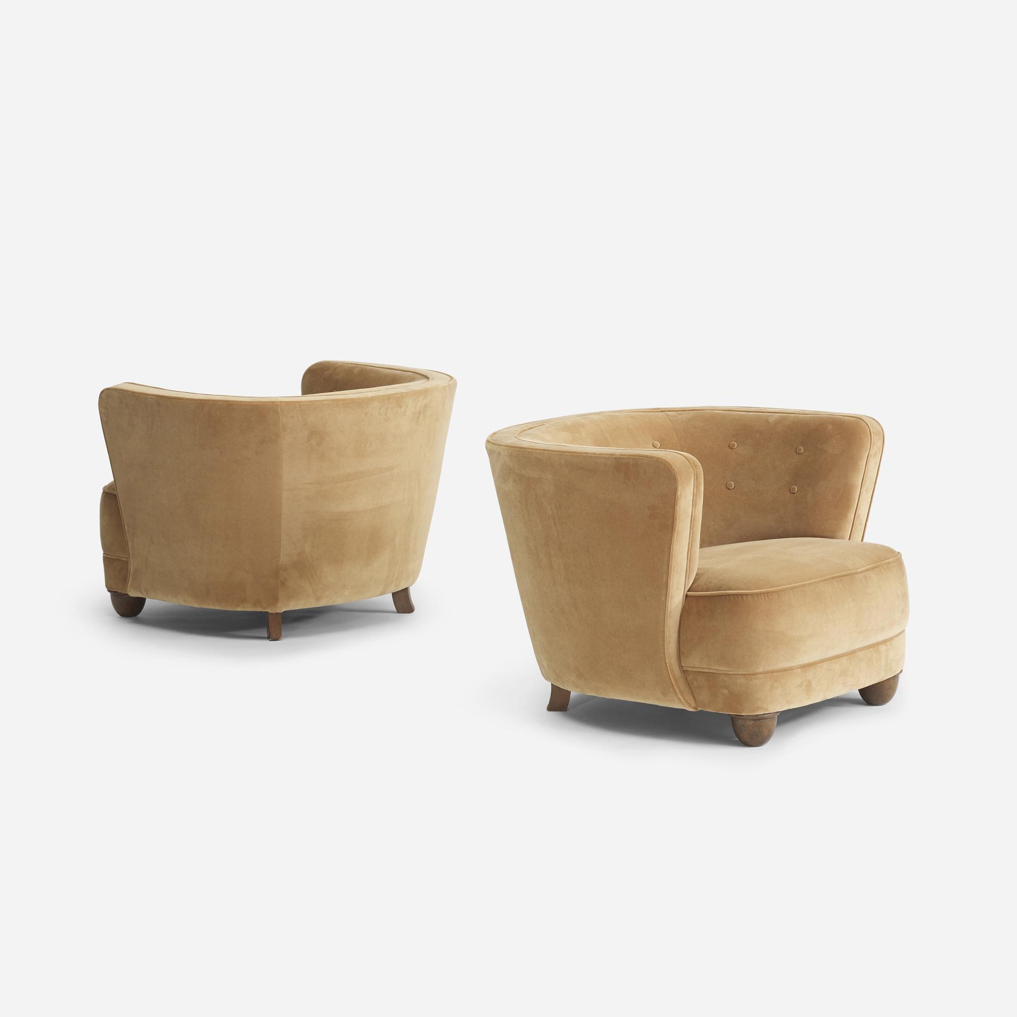 111: Danish Cabinetmaker / lounge chairs, pair (2 of 4)