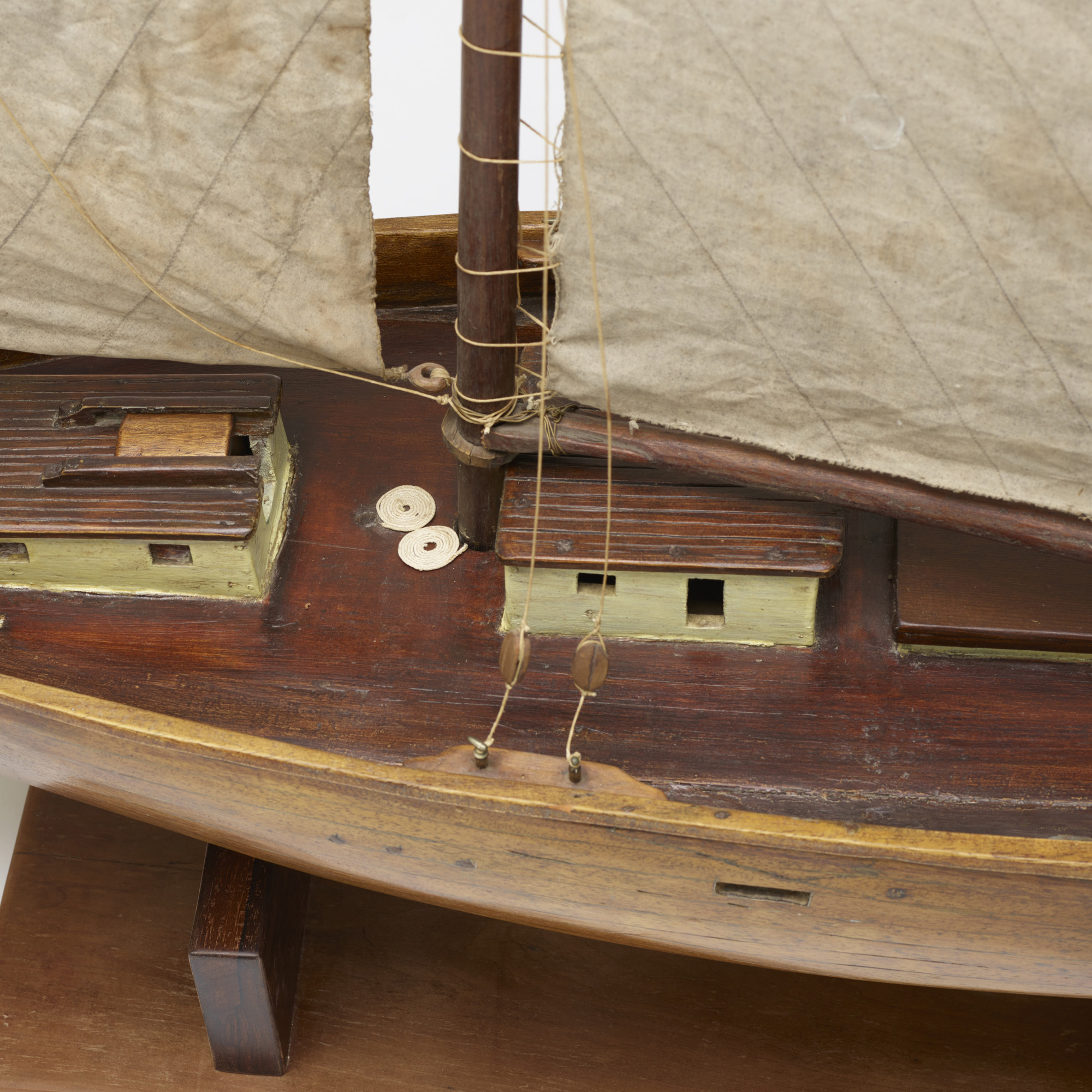 111: Early 20th Century / sailboat model (3 of 3)
