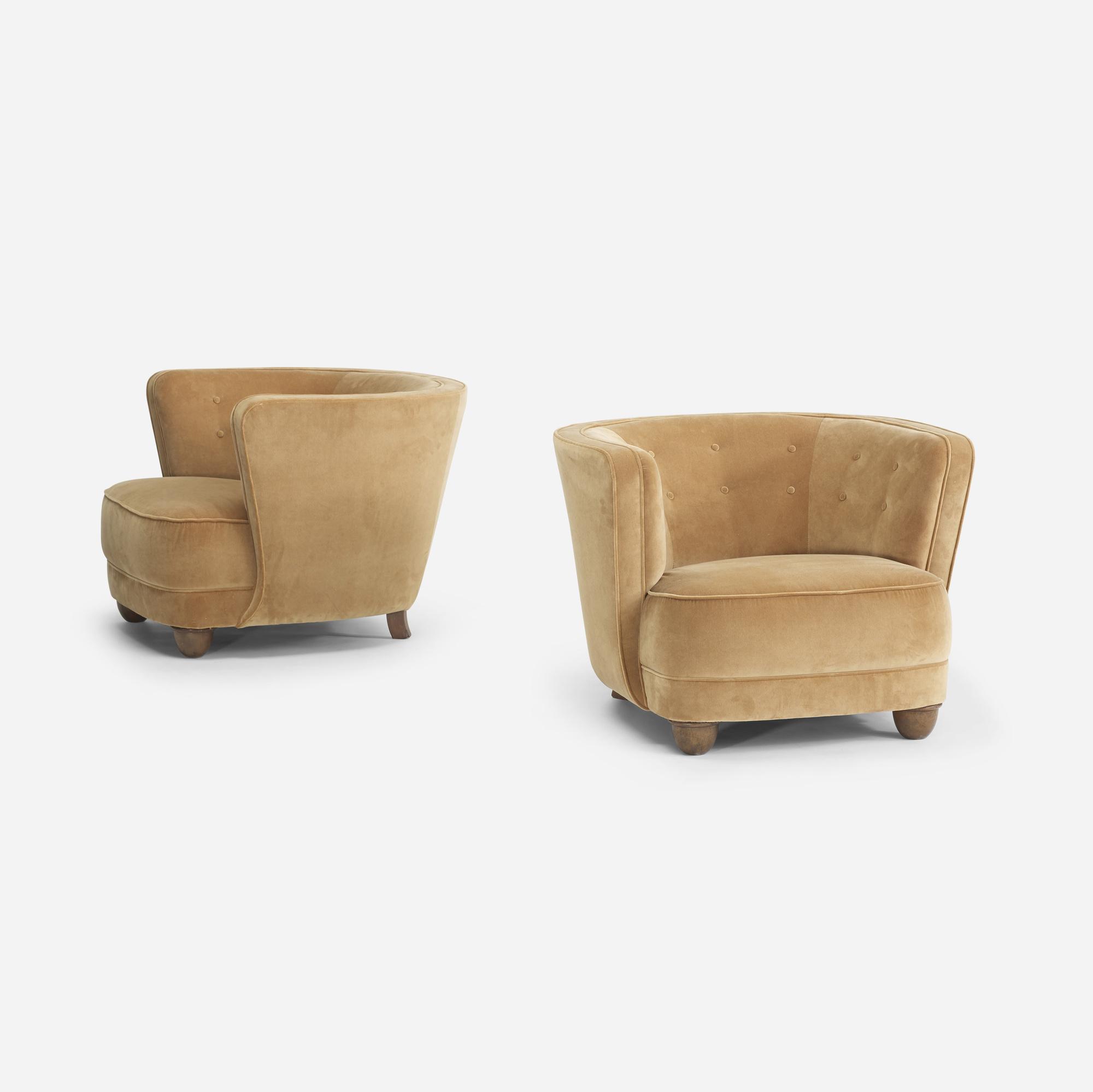 111: Danish Cabinetmaker / lounge chairs, pair (3 of 4)