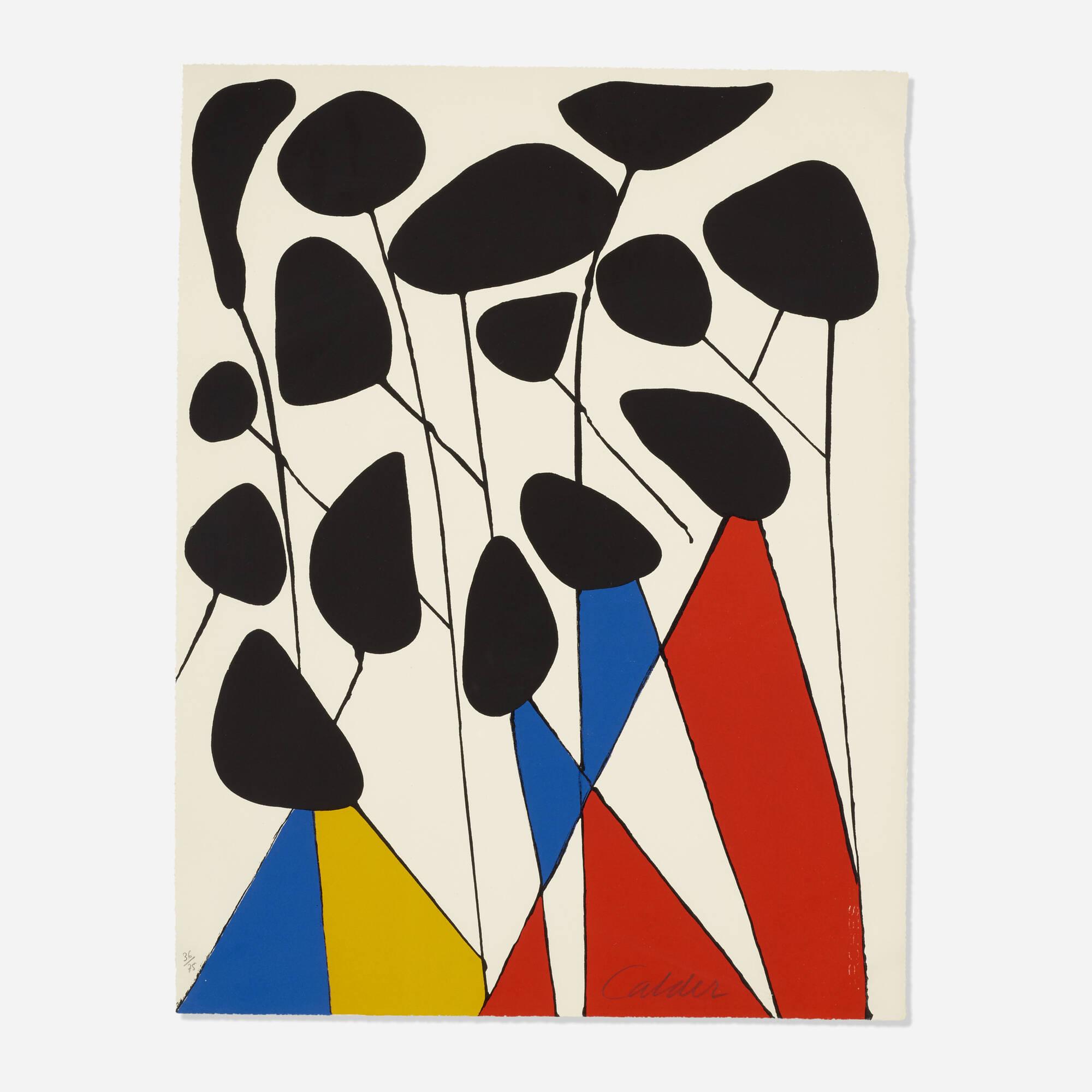 112: Alexander Calder / Untitled (from the Calder, Magie Eolienne portfolio) (1 of 1)