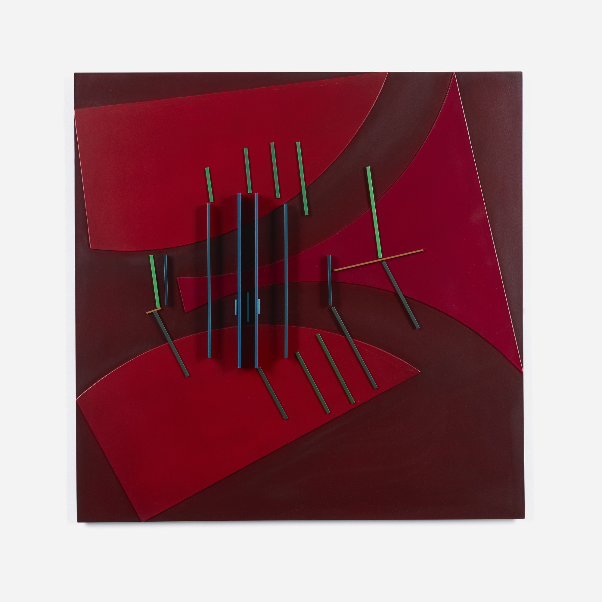 112: David Barr / Structurist Relief No. 344 (1 of 3)
