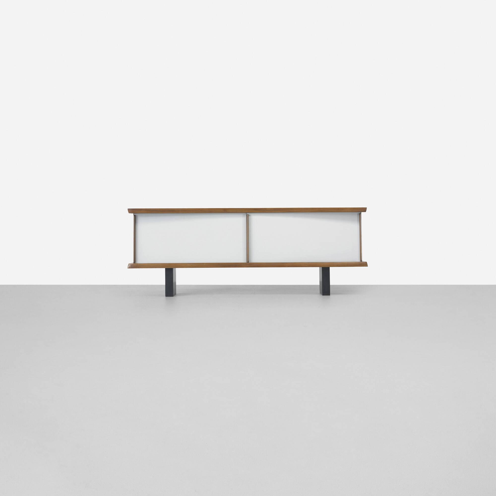 112 Charlotte Perriand Rare Bahut Important Design 7 June  # Catalogue Bahut