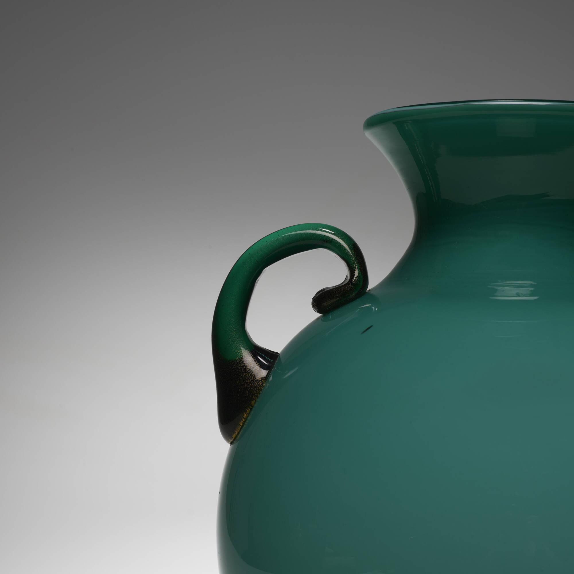 112: Flavio Poli / Incamiciato vase, model 3577/4695 (2 of 2)