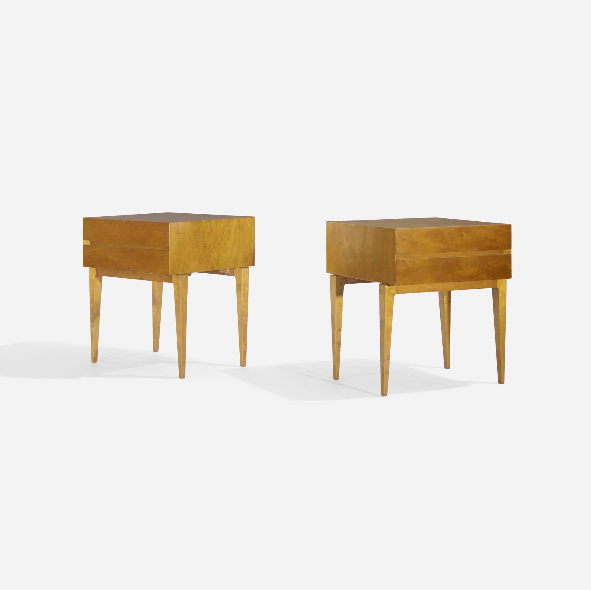 113: Swedish / nightstands, pair (1 of 3)