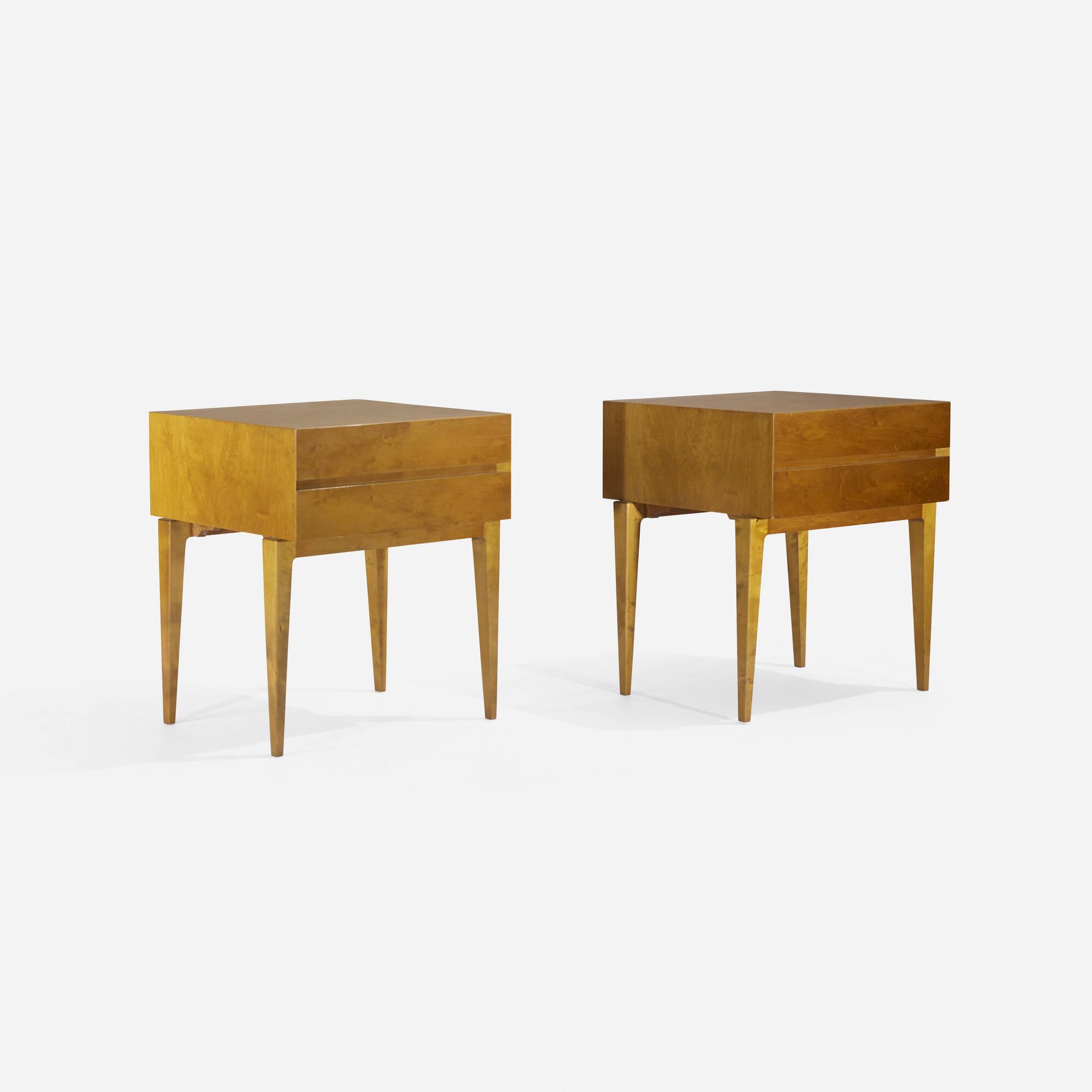 113: Swedish / nightstands, pair (2 of 3)