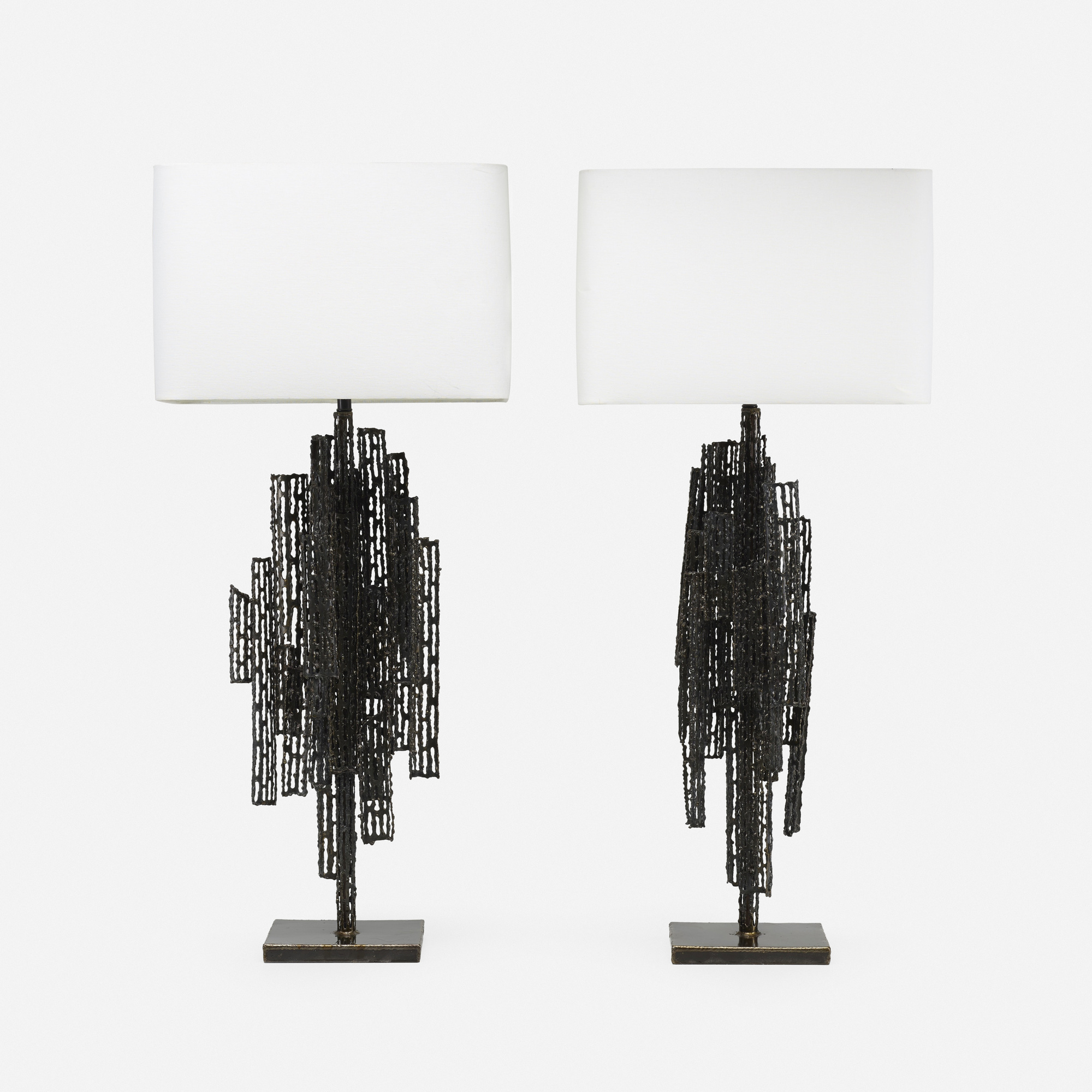 114: Marcello Fantoni / table lamps, pair (1 of 2)