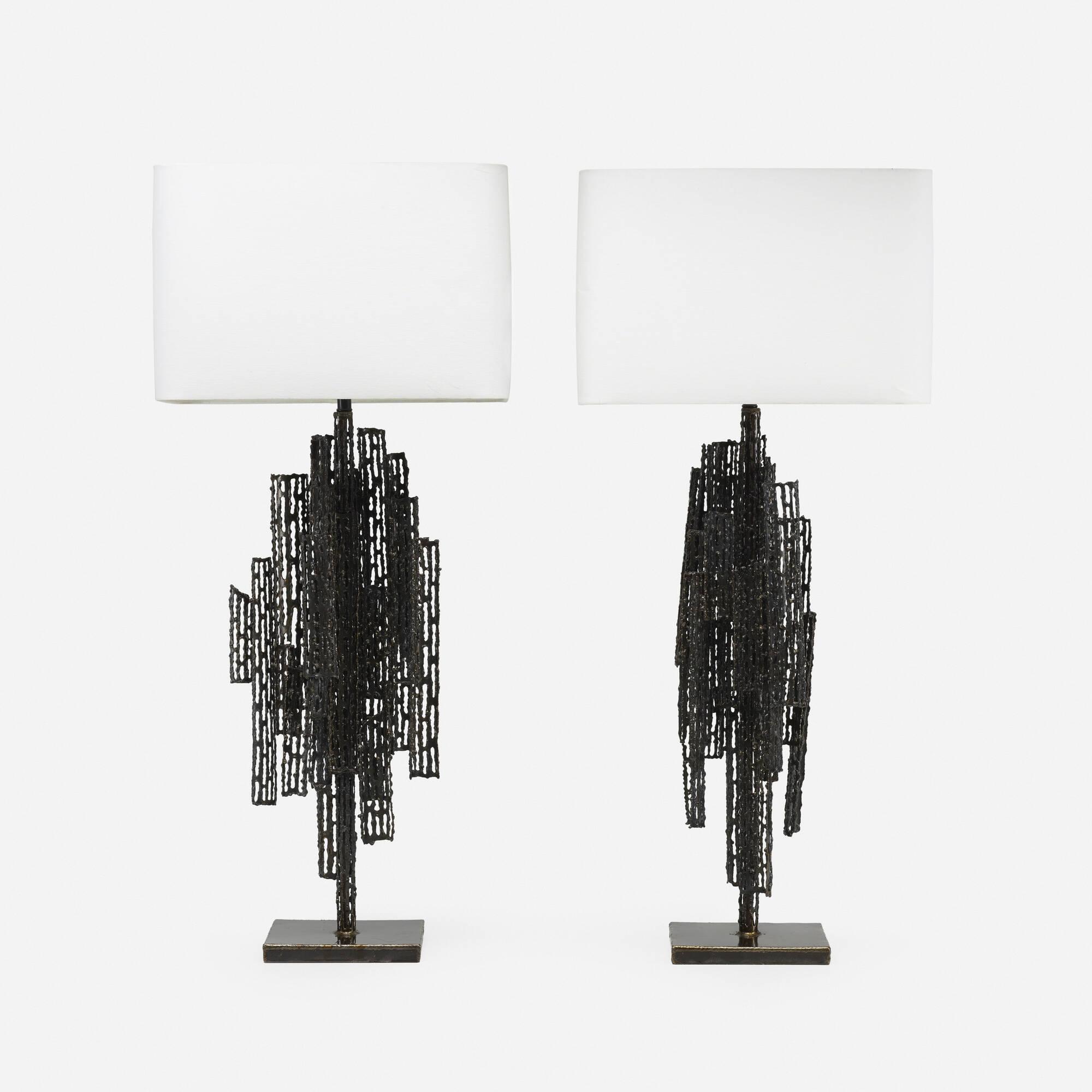 114: Marcello Fantoni / table lamps, pair (1 of 2)