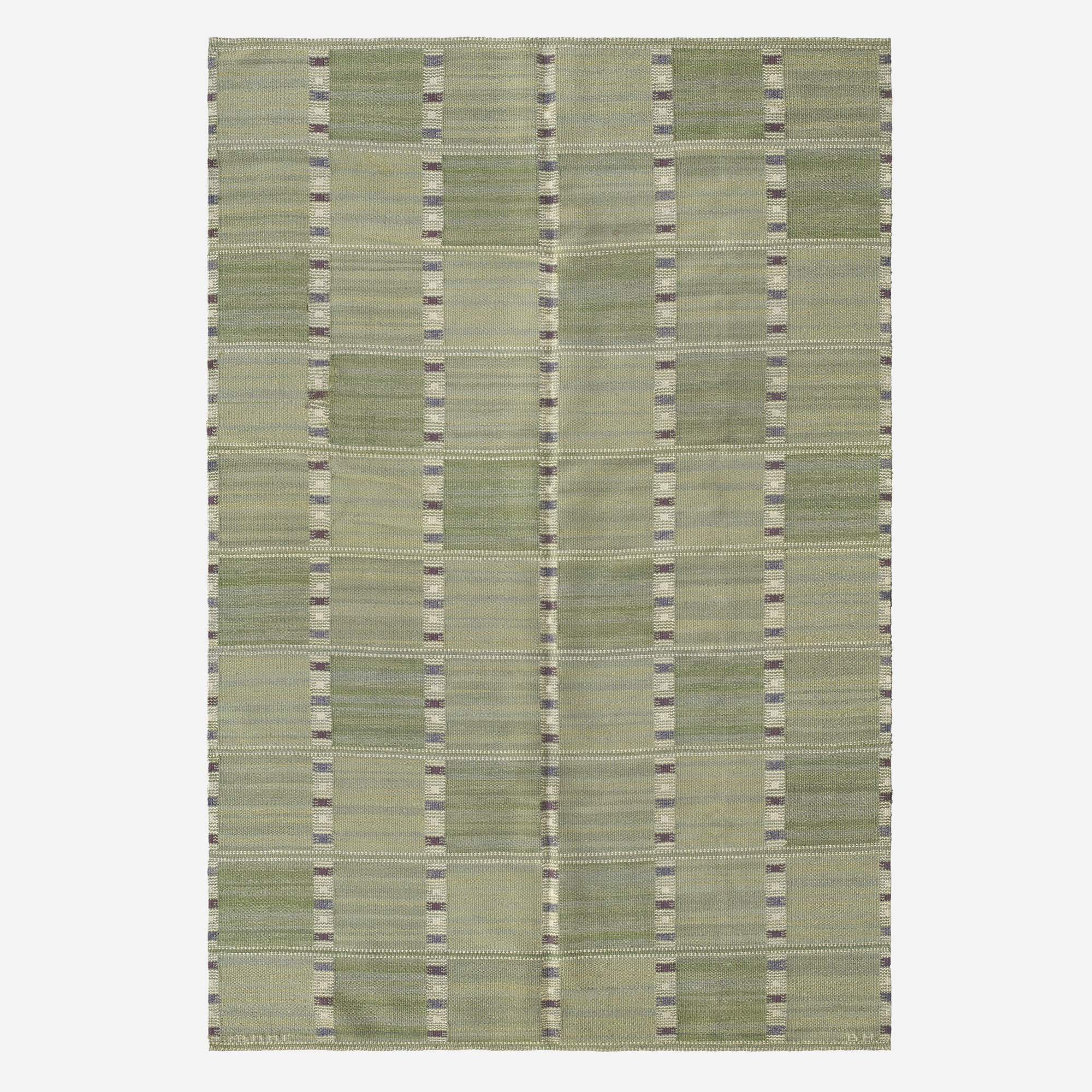 114: Barbro Nilsson / Falurutan flatweave carpet (1 of 2)