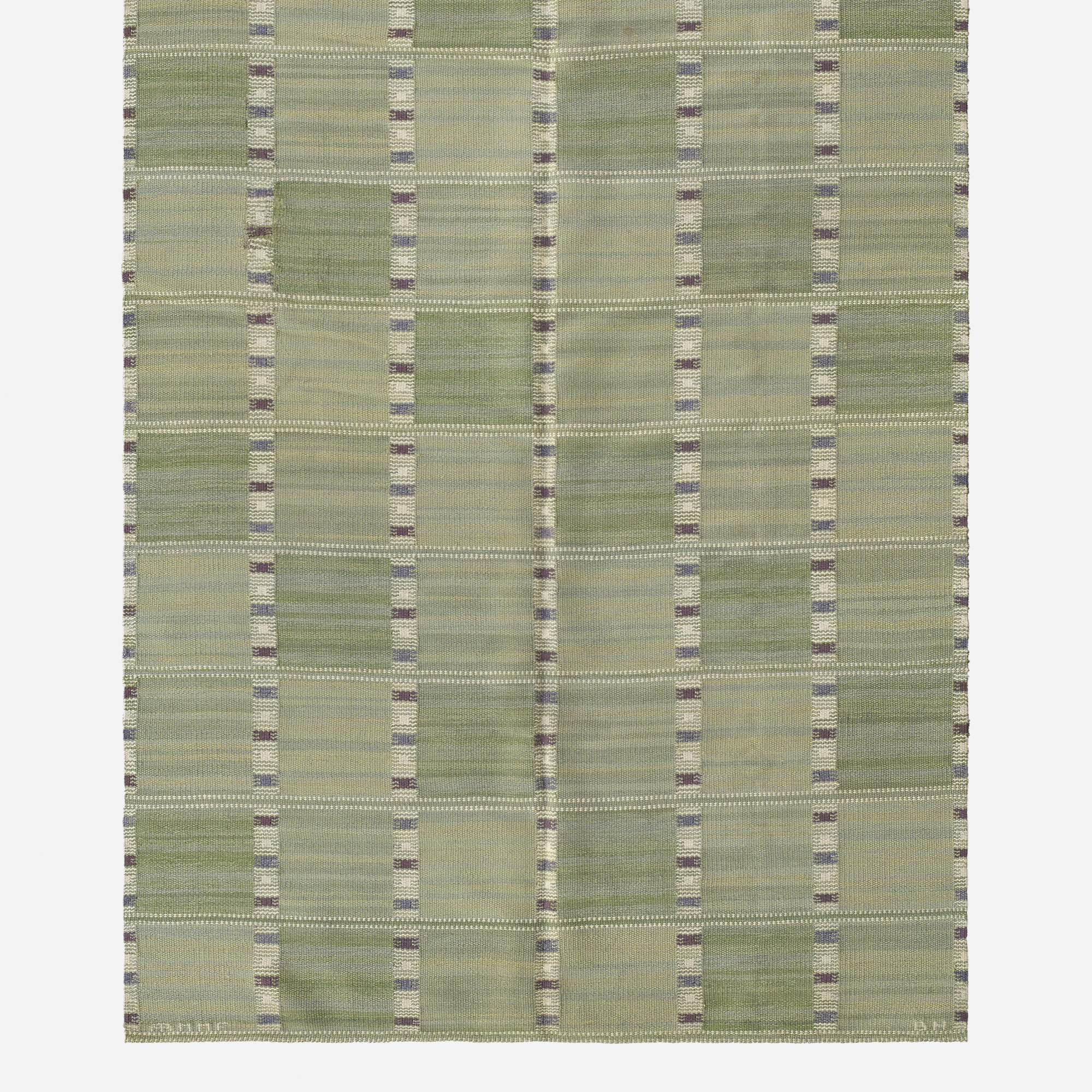 114: Barbro Nilsson / Falurutan flatweave carpet (2 of 2)