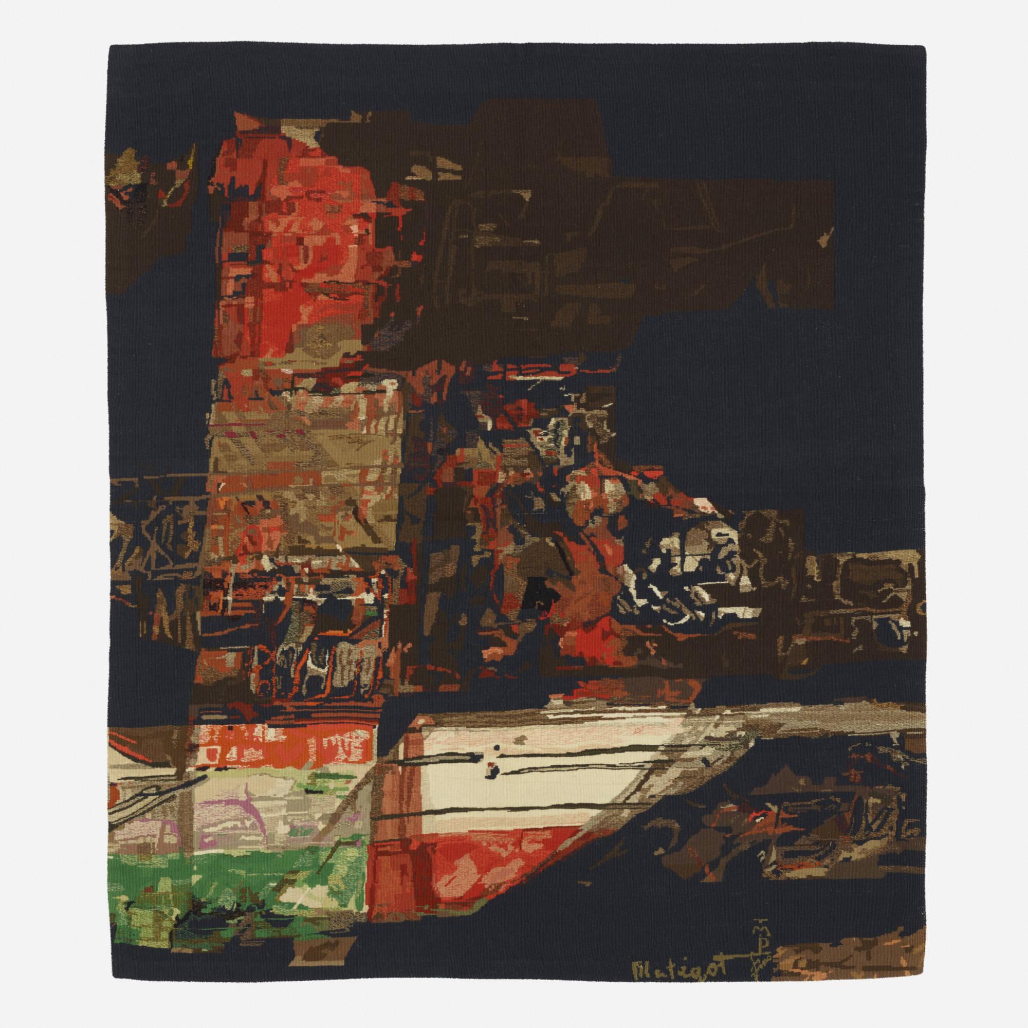 115: Mathieu Matégot / Manhattan tapestry (1 of 1)