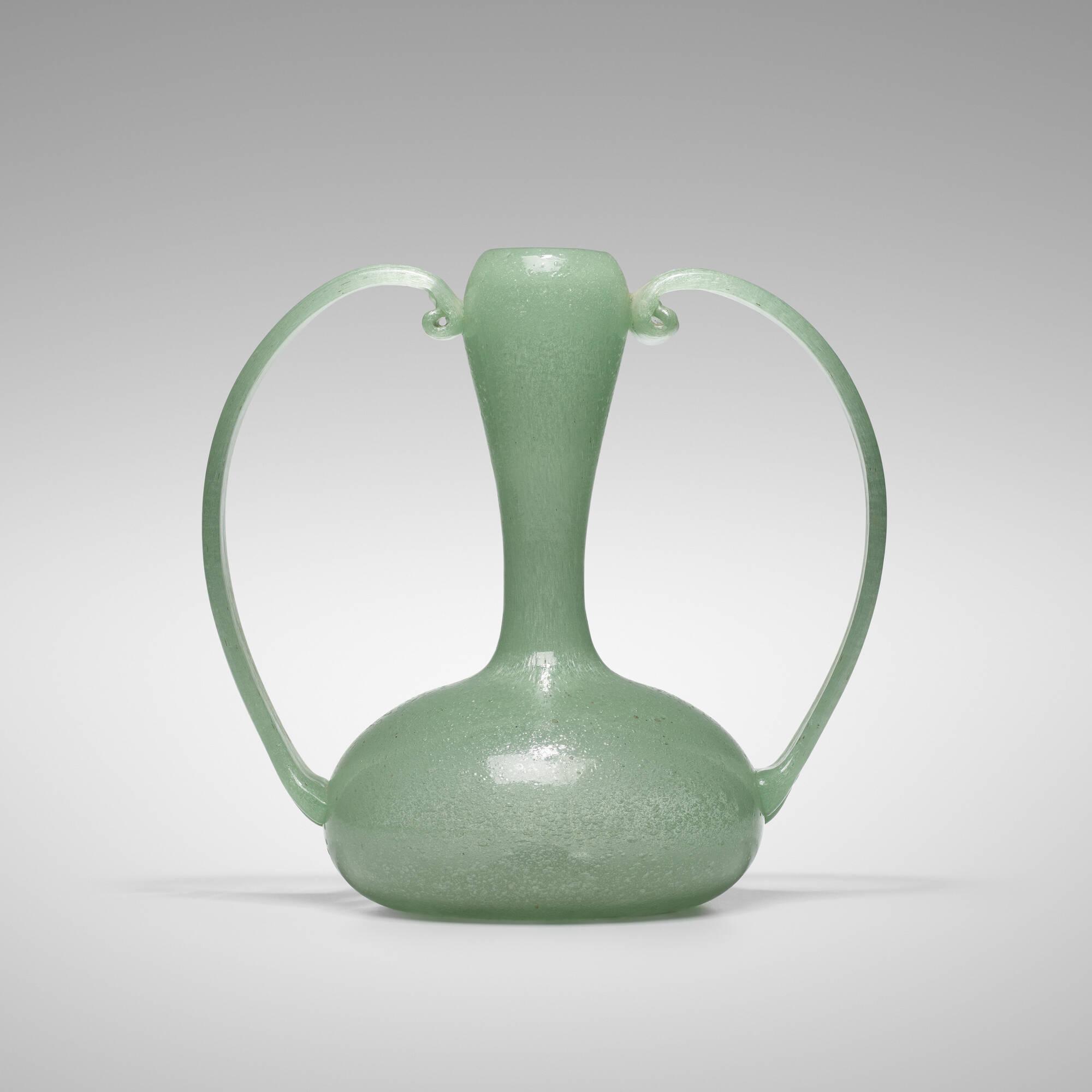 115: Barovier Seguso Ferro / Pulegoso vase, model Z100 (1 of 2)