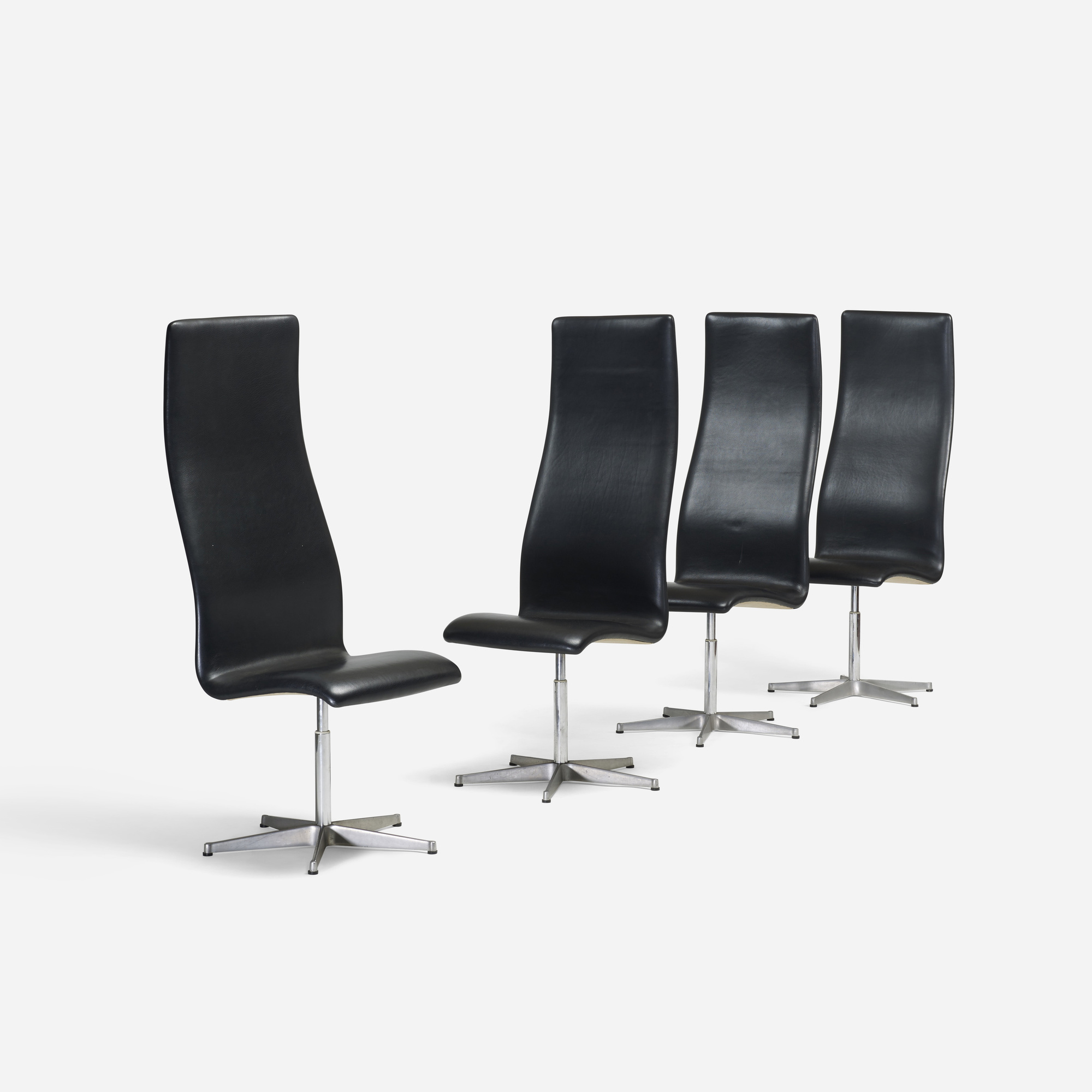 115: Arne Jacobsen / Oxford chairs model 7403, set of four (1 of 3)