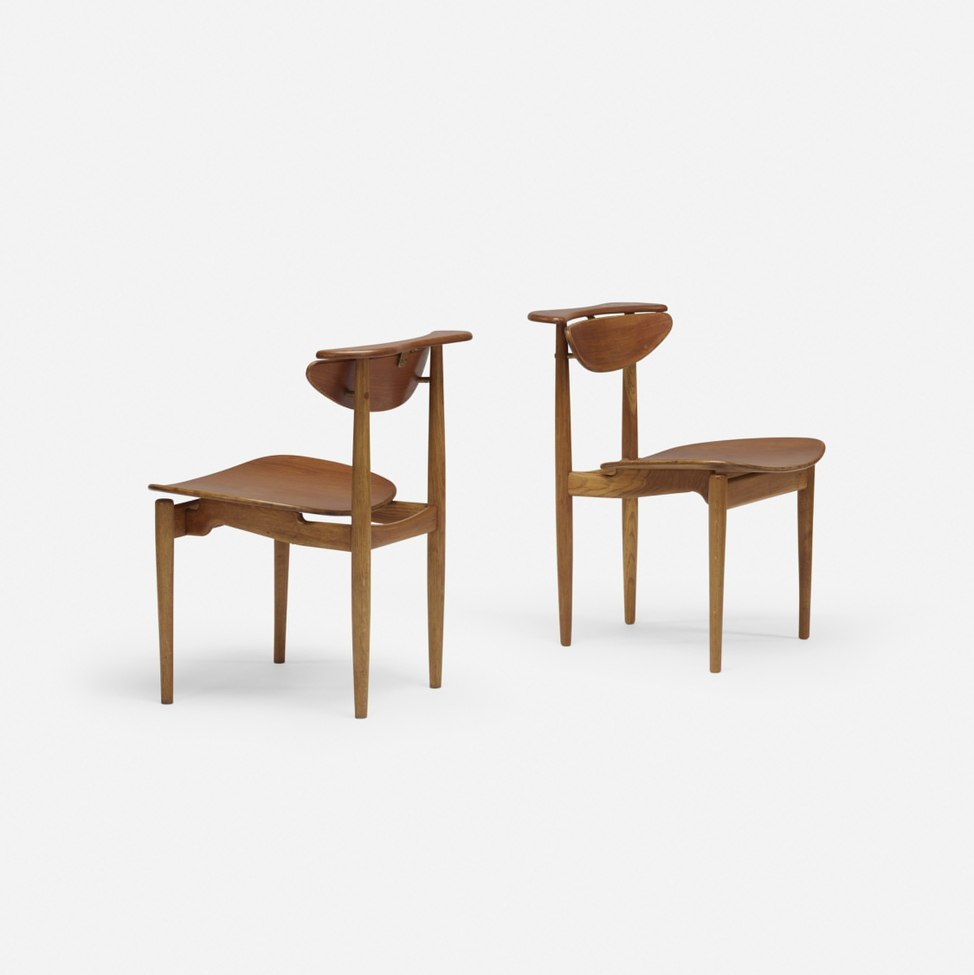 115: Finn Juhl / dining chairs, pair (1 of 4)