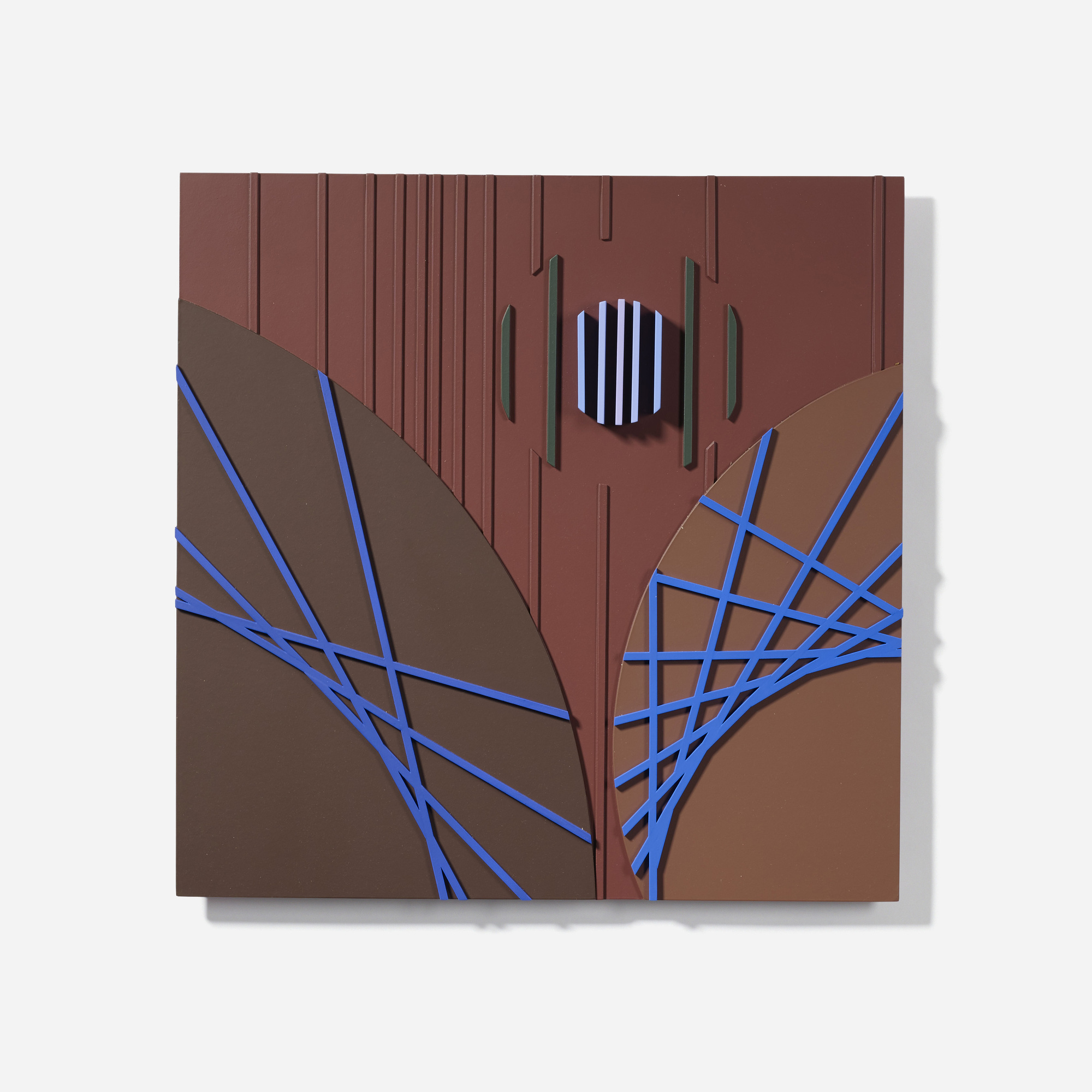 115: David Barr / Structurist Relief No. 356 (1 of 3)