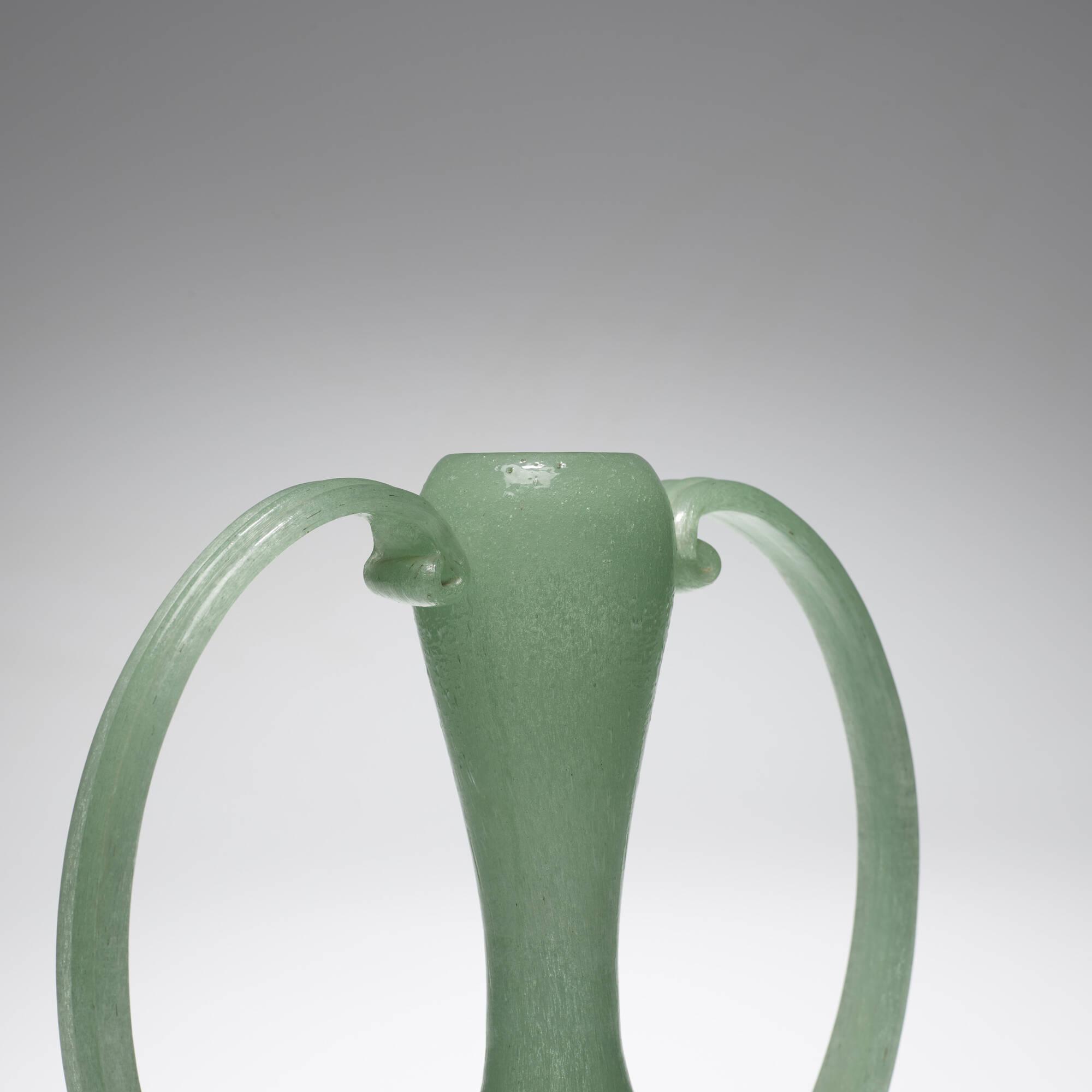115: Barovier Seguso Ferro / Pulegoso vase, model Z100 (2 of 2)