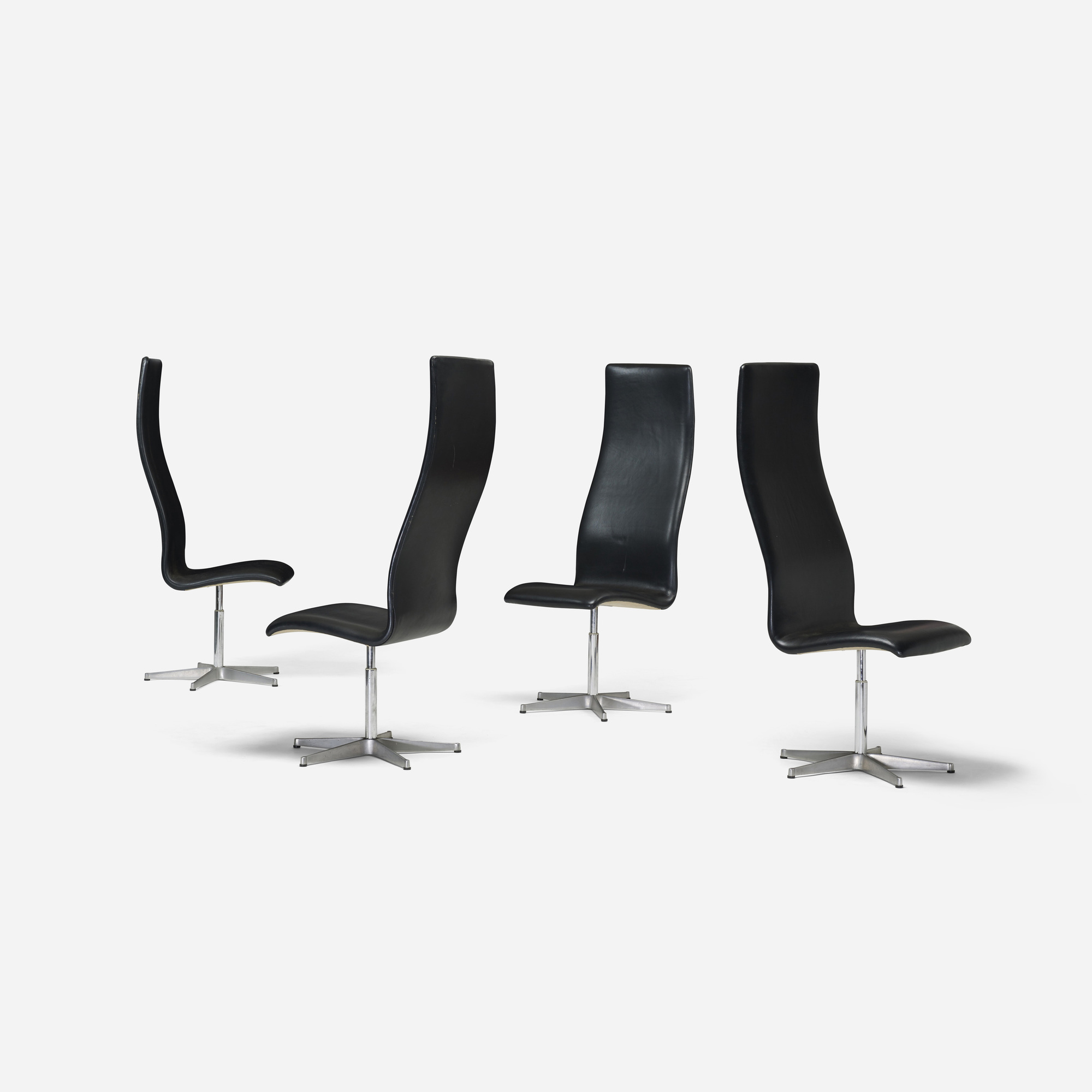 115: Arne Jacobsen / Oxford chairs model 7403, set of four (2 of 3)