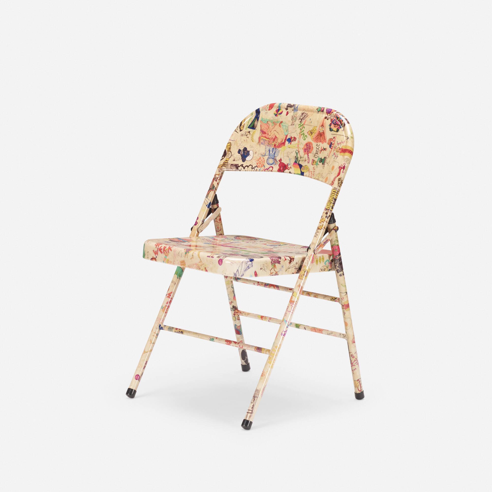 116: Rob Pruitt / Graffiti chair (1 of 3)