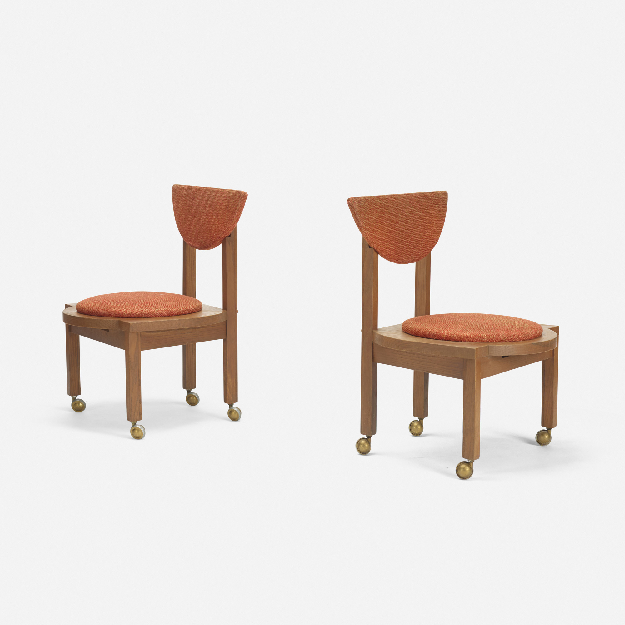 Merveilleux ... 116: Frank Lloyd Wright / Pair Of Dining Chairs From The Riverview  Terrace Restaurant,