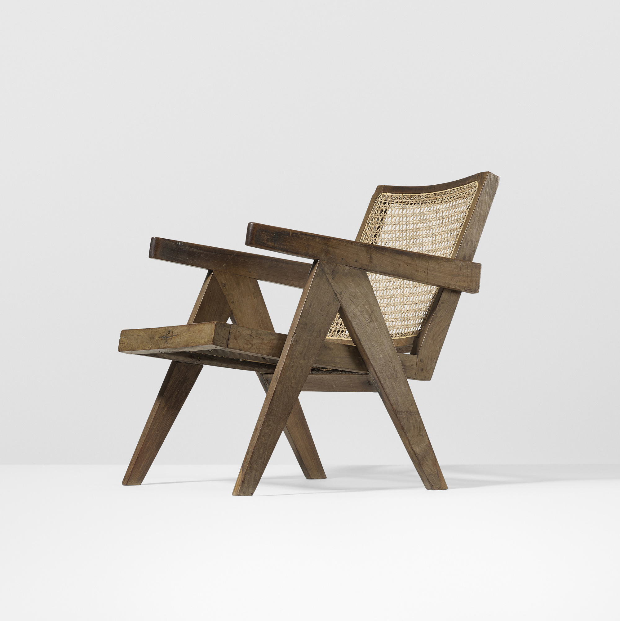 ... 116: Pierre Jeanneret / Lounge Chair From Chandigarh (2 Of 3)