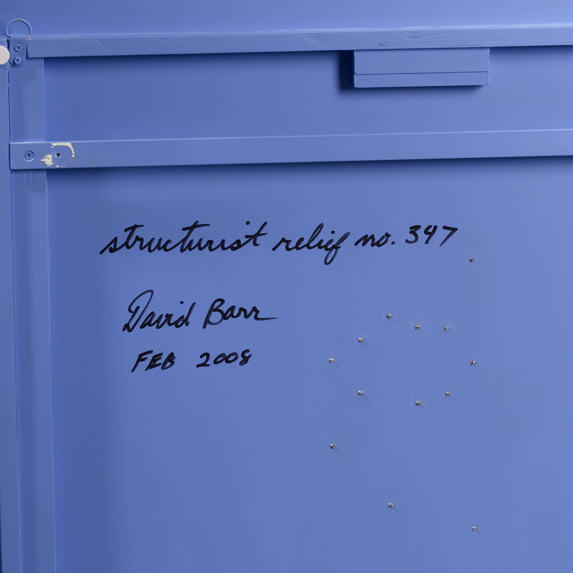 116: David Barr / Structurist Relief No. 347 (4 of 4)