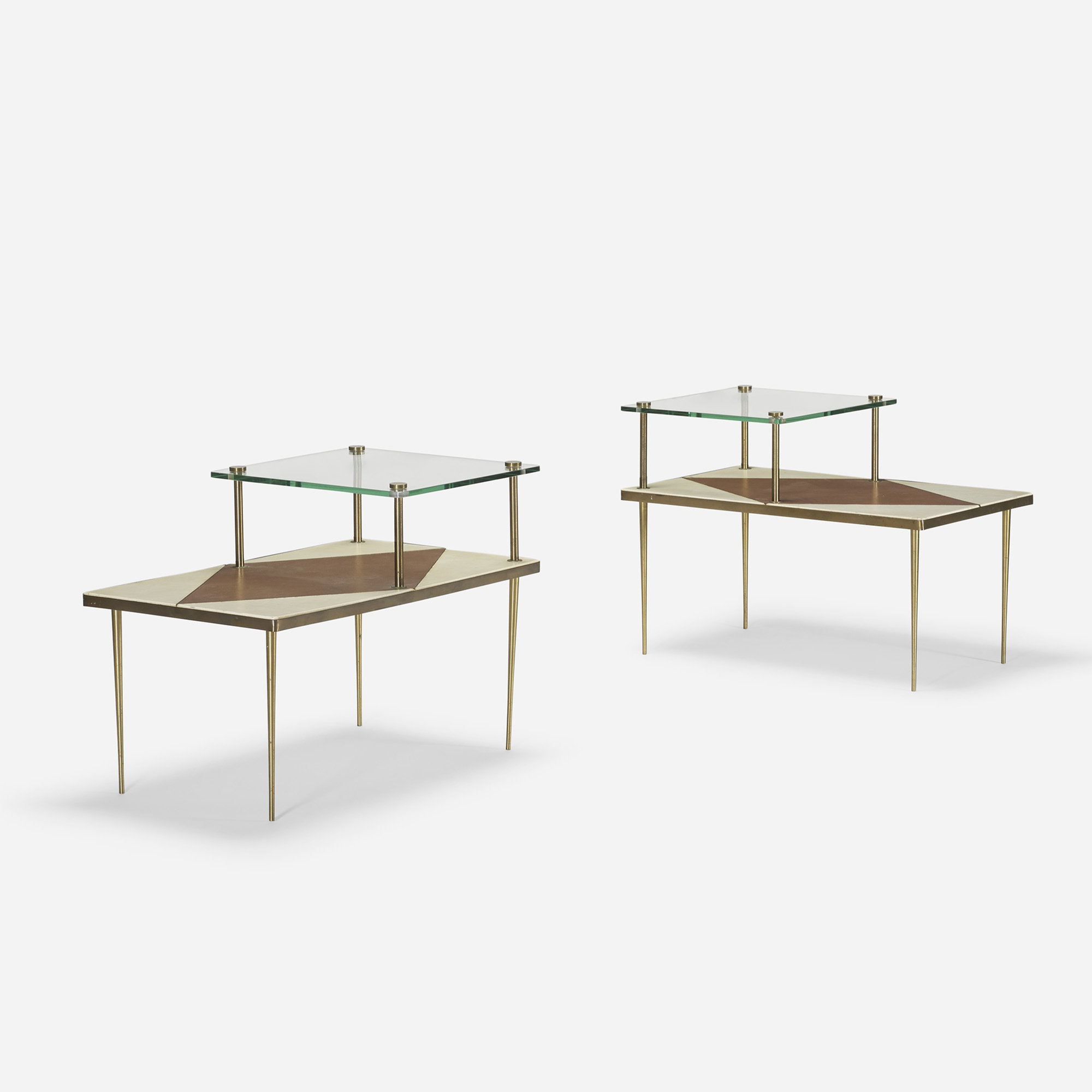 117: American / occasional tables, pair (1 of 4)