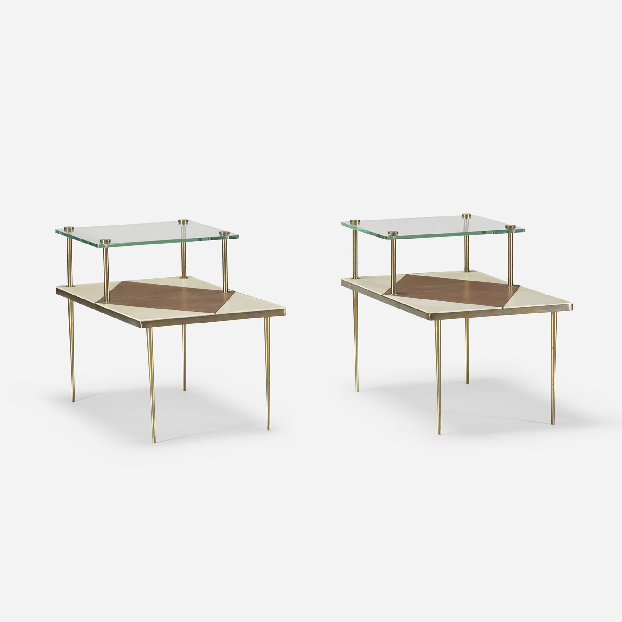 117: American / occasional tables, pair (2 of 4)