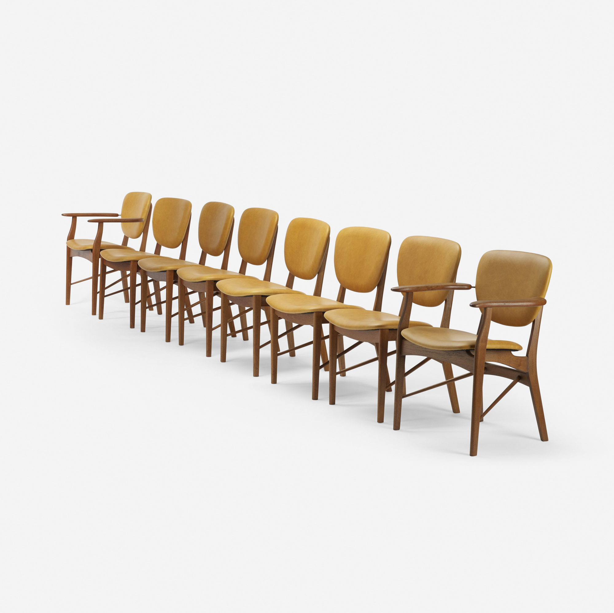 117: Finn Juhl, attribution / dining chairs, set of eight (2 of 5)
