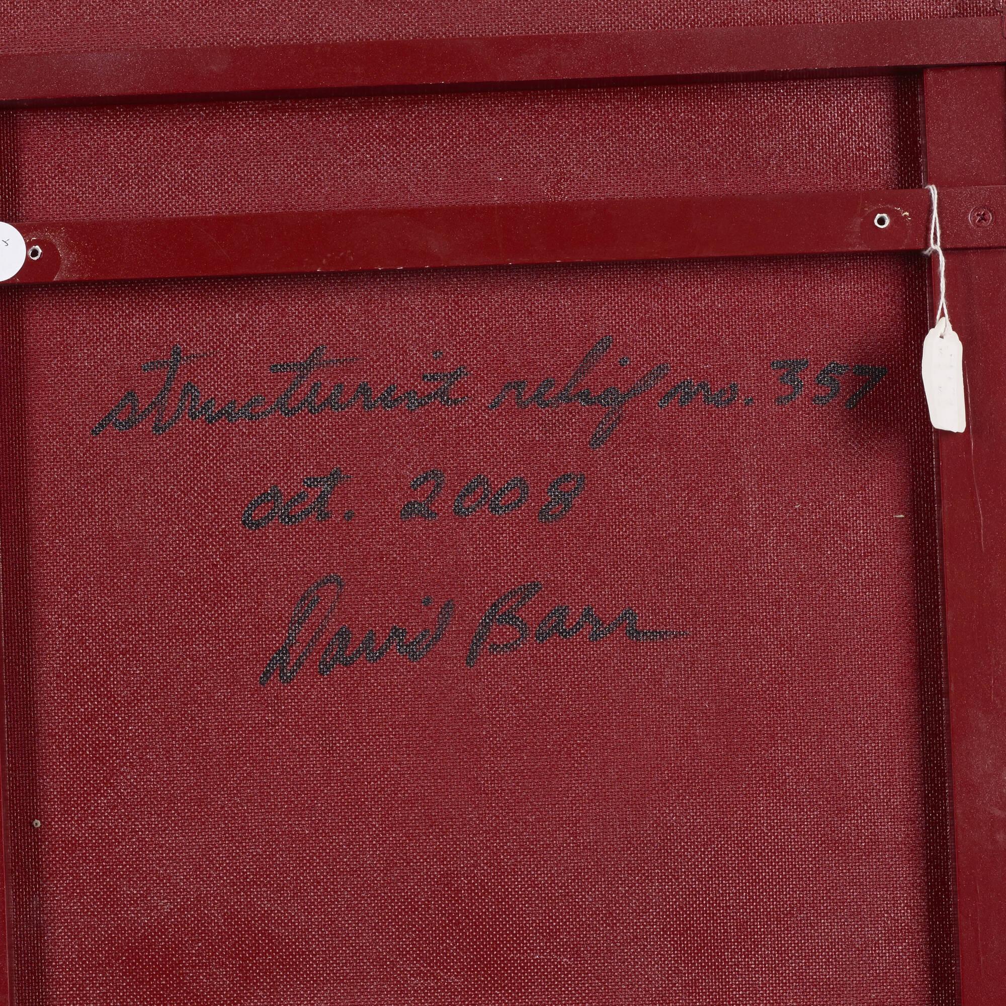 117: David Barr / Structurist Relief No. 357 (3 of 3)