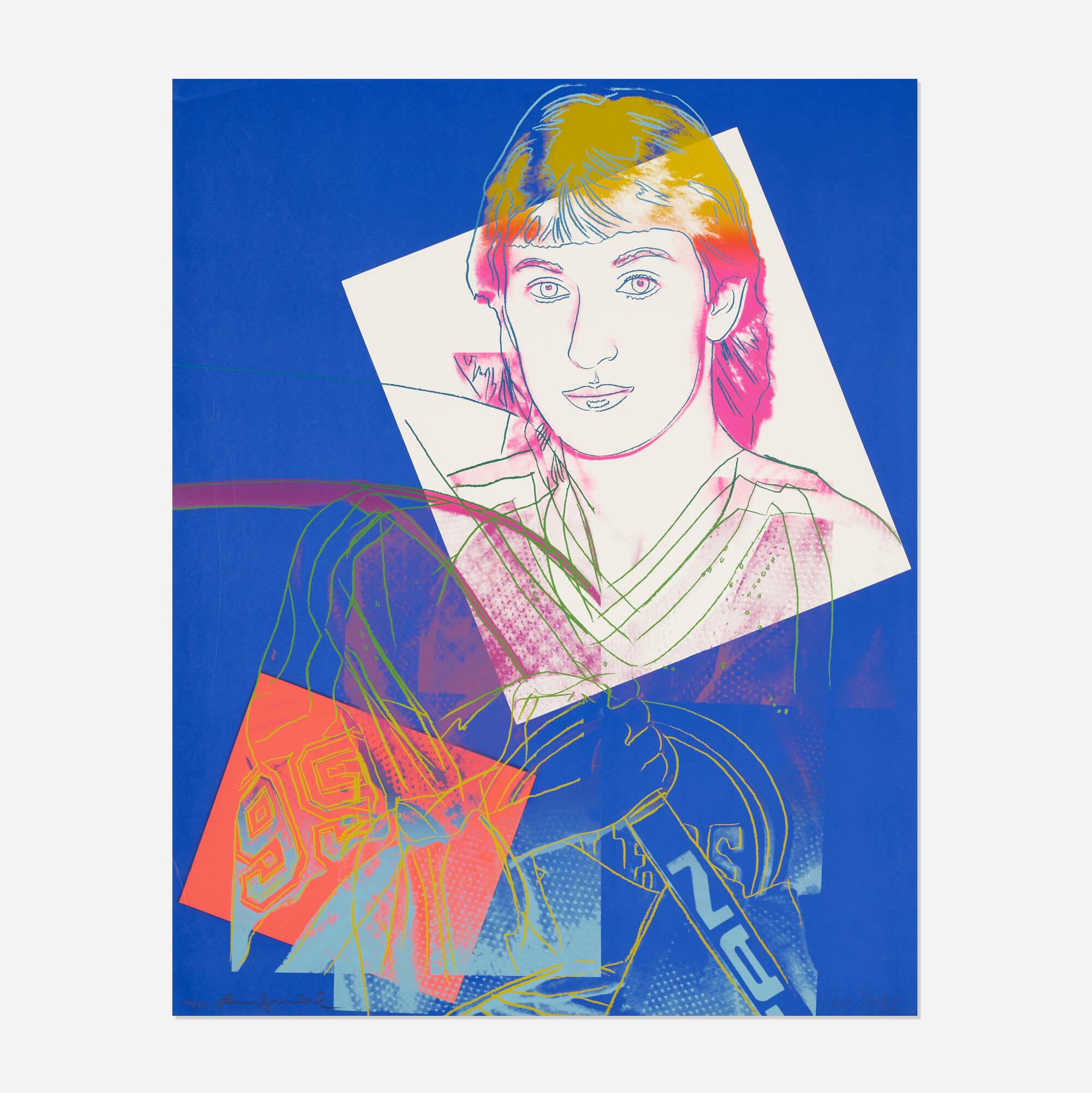 118: Andy Warhol / Wayne Gretzky #99 (1 of 1)