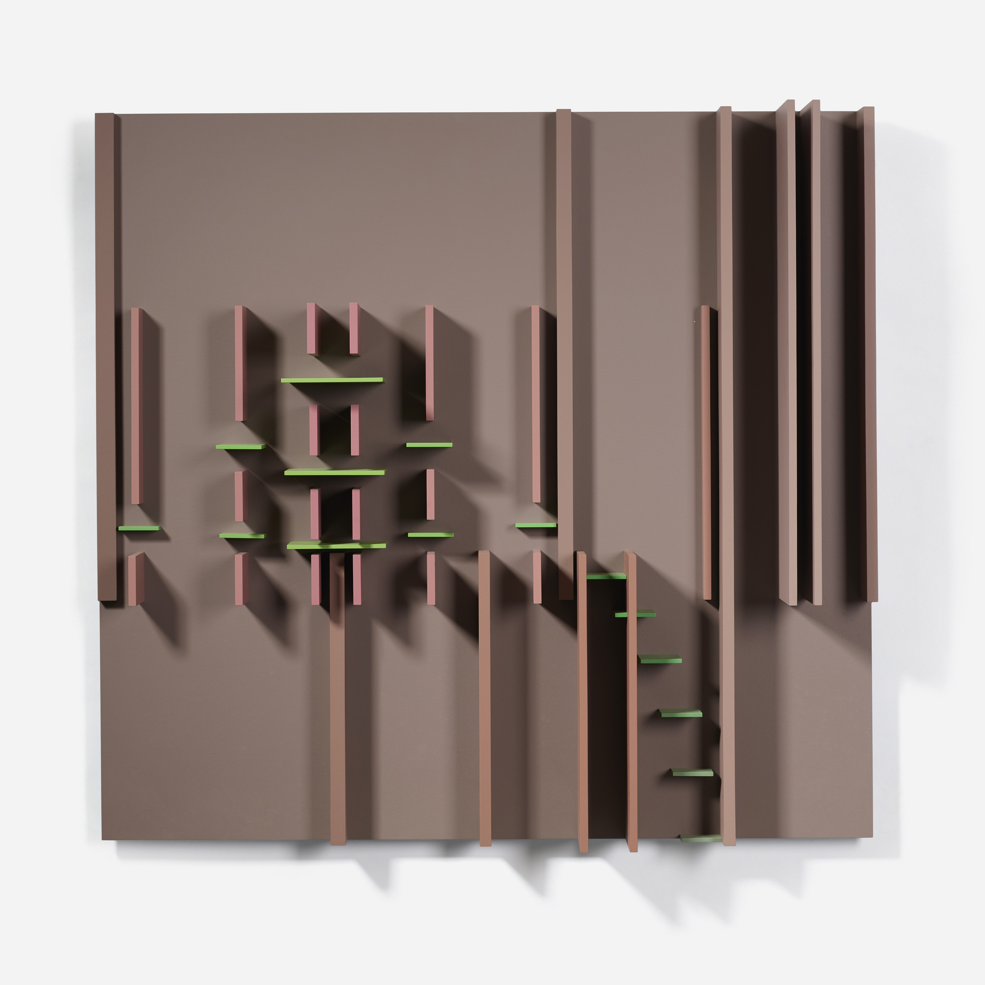 118: David Barr / Structurist Relief No. 93 (1 of 3)