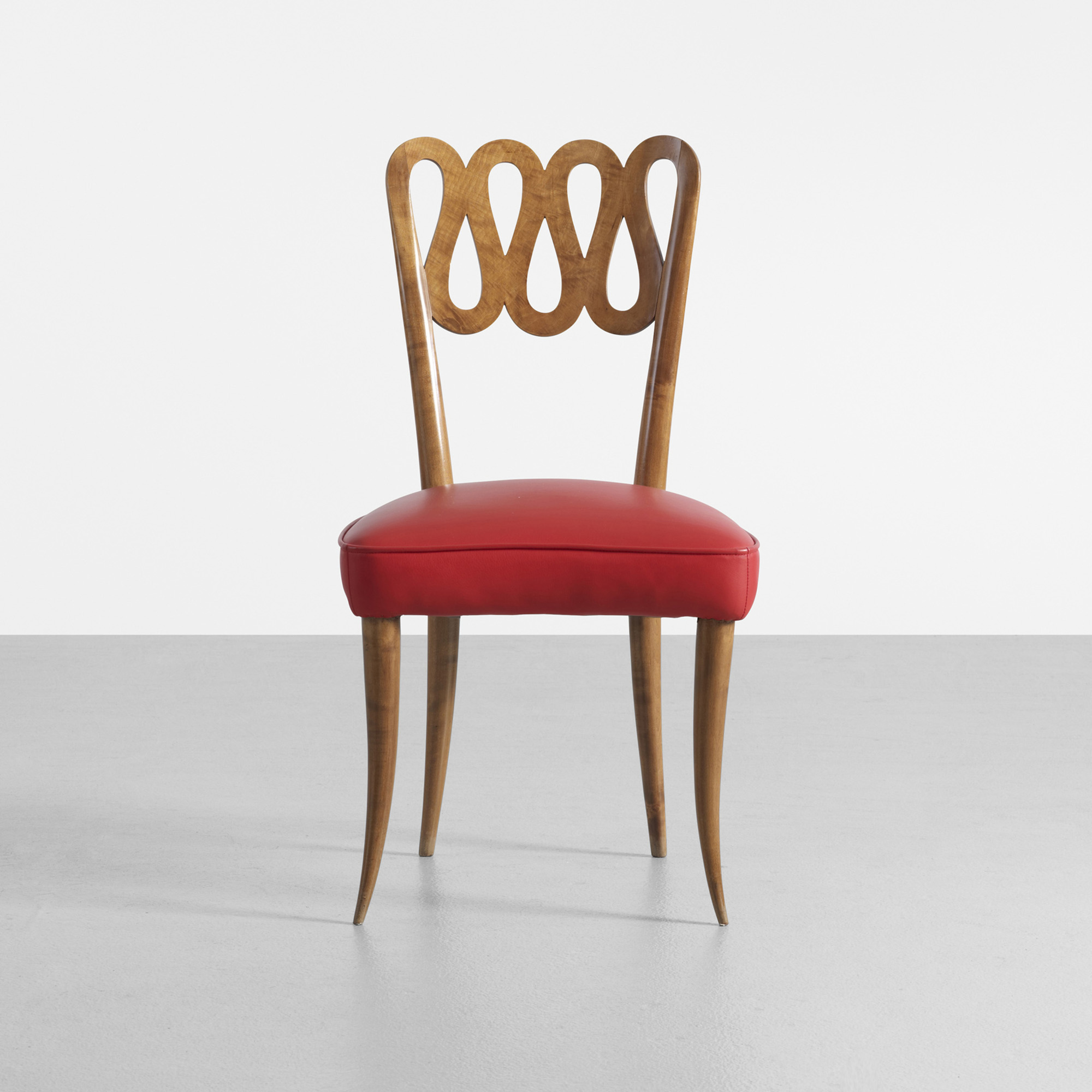 118 Gio Ponti Rare and early chair from Conti Contini